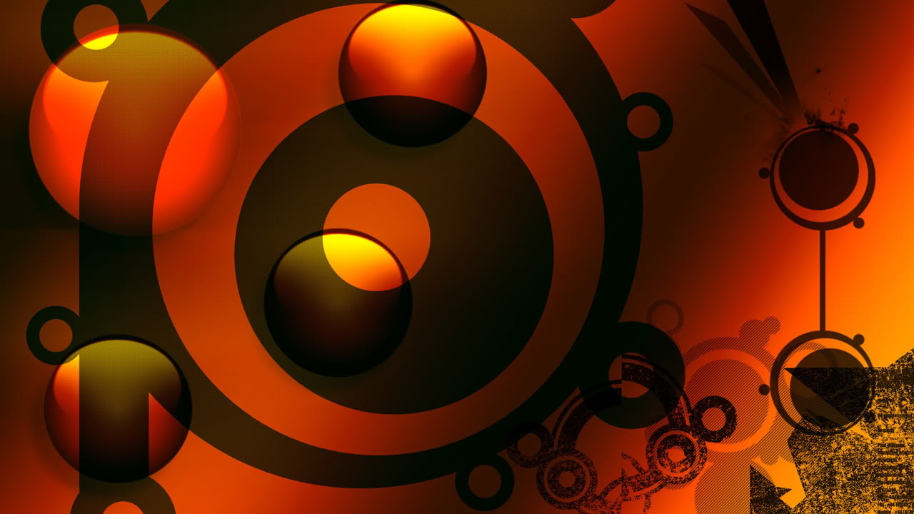 Abstract Orange Wallpapers