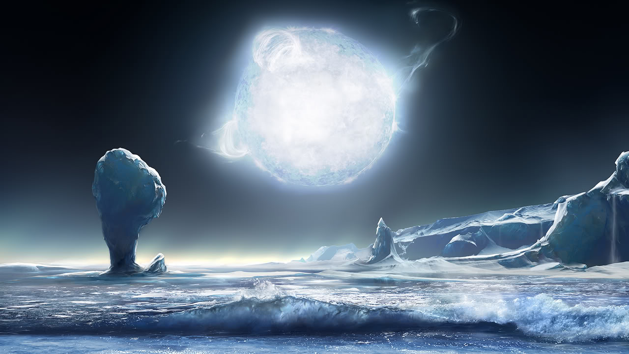 Alien Ice Planet Wallpapers