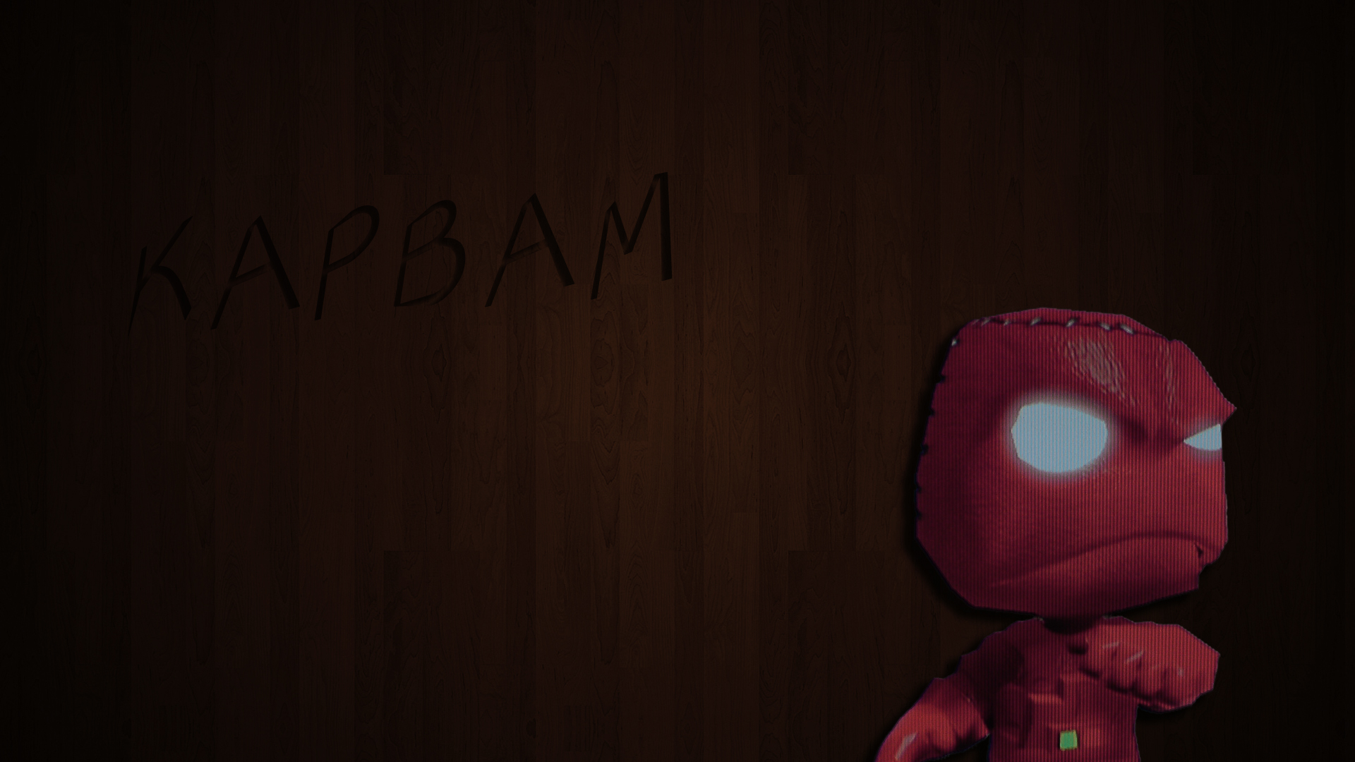 Angry Sackboy Wallpapers