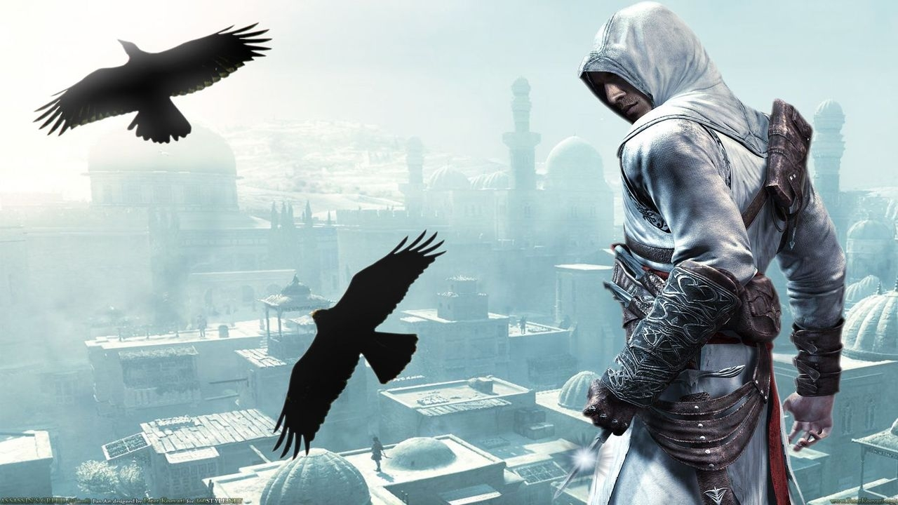 Assassins Fly With The Birds Wallpapers