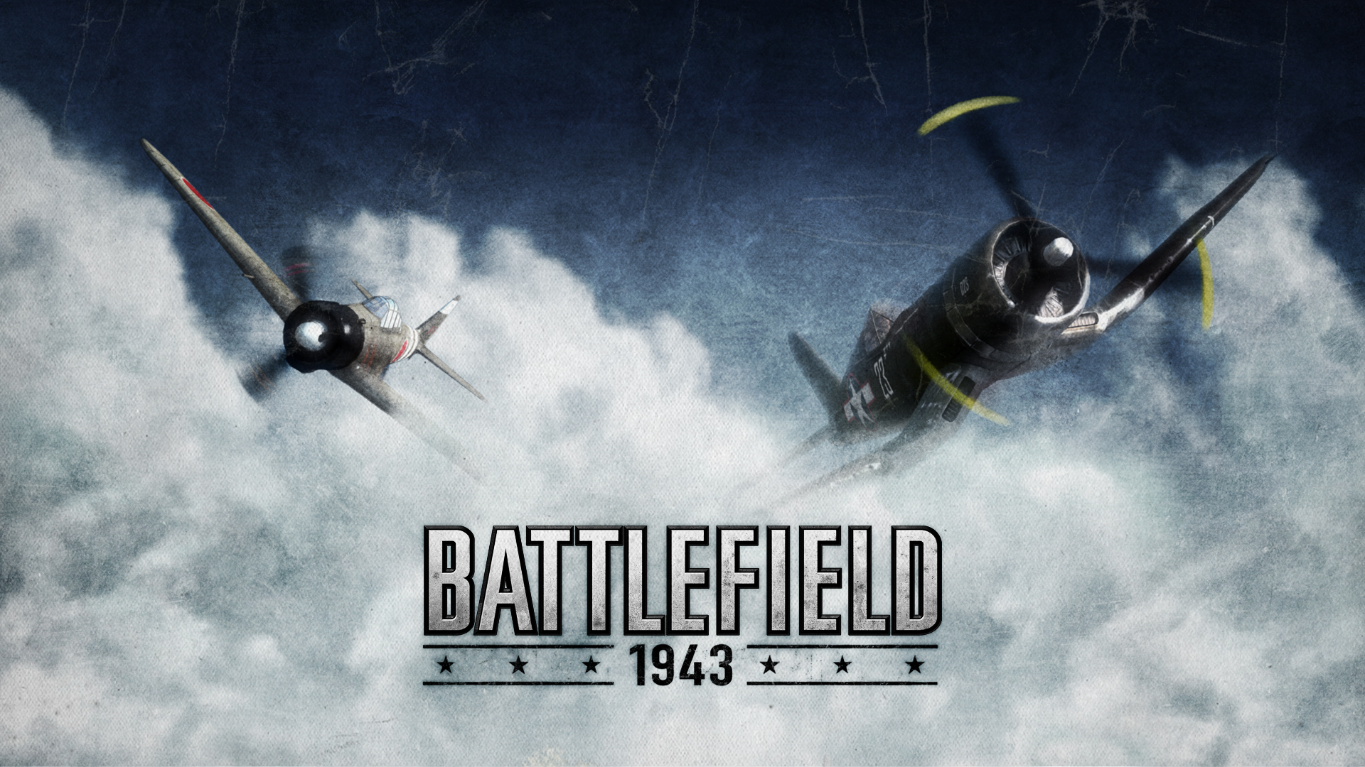 Battlefield 1943 - Twin Planes Wallpapers