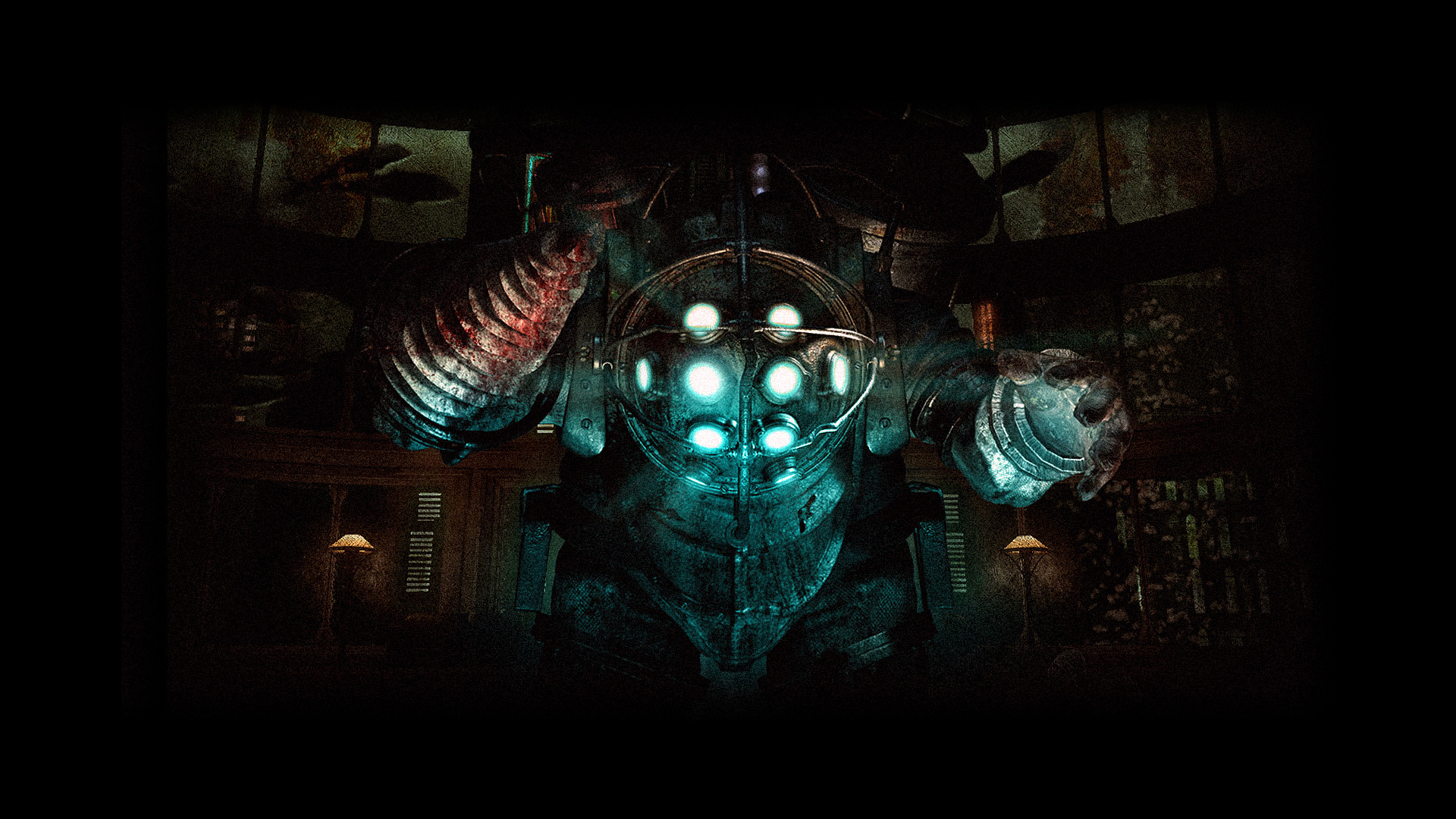 This is a Bioshock Big Daddy wallpaper. This Bioshock Big Daddy background
