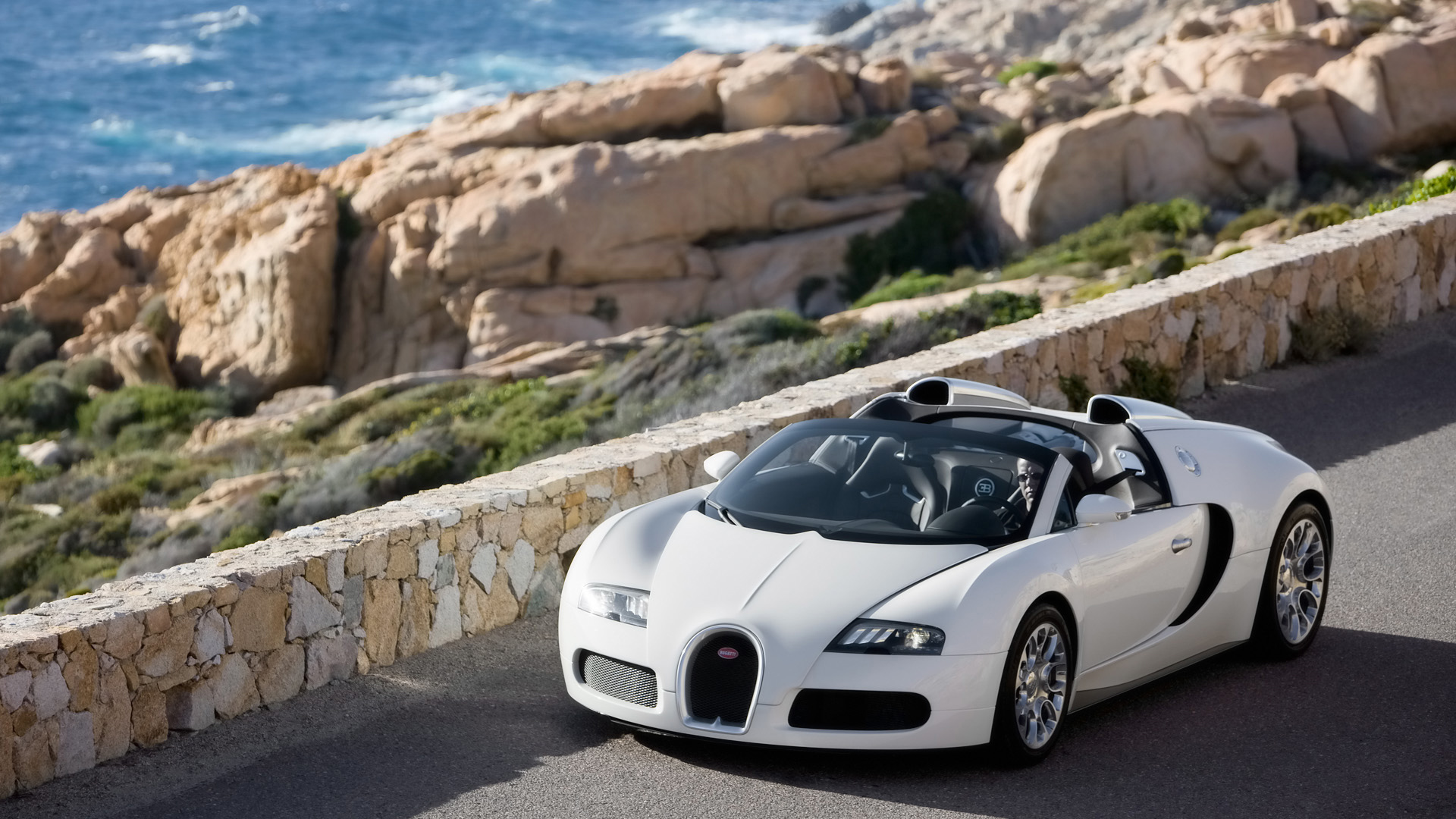 Bugatti Veyron - Out for a Drive Wallpapers