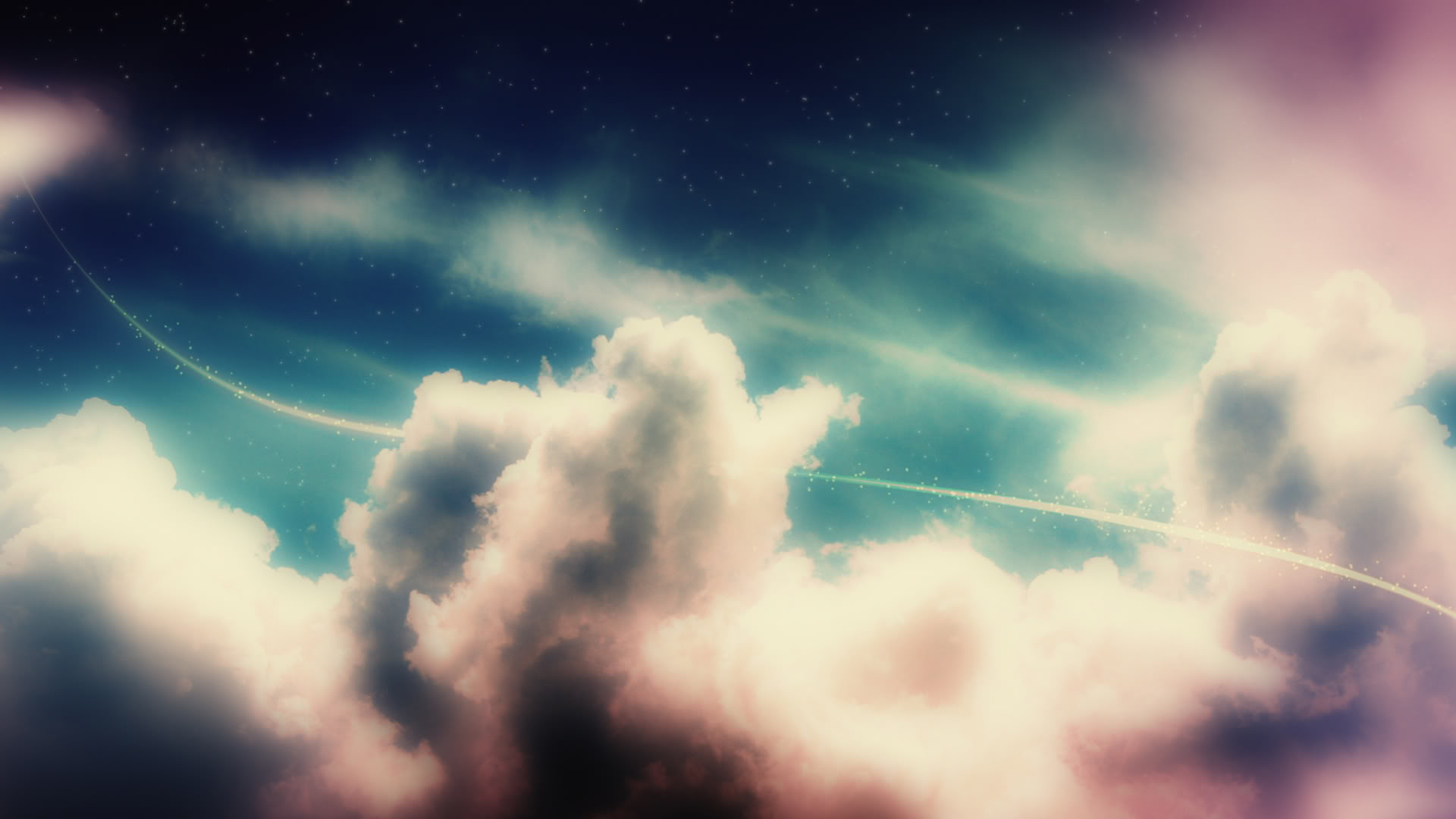 Clouds Above Wallpapers