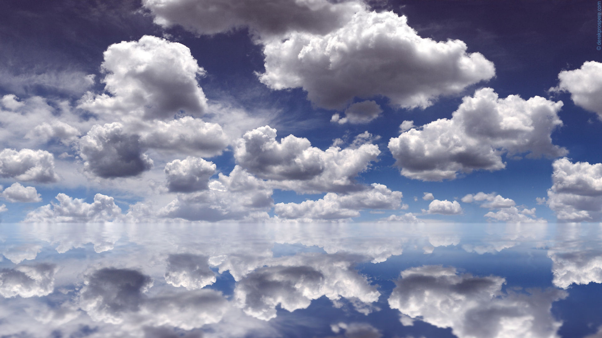 Clouds Reflection Wallpapers