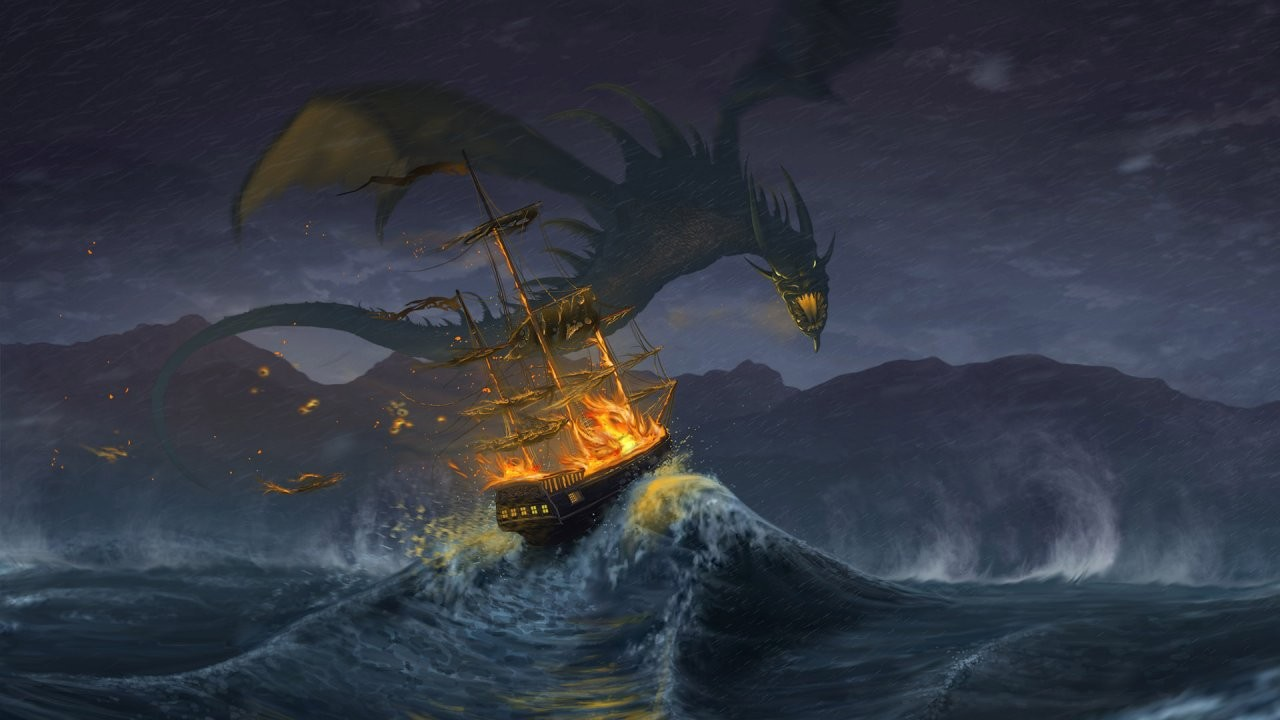 Danger at Sea Wallpapers