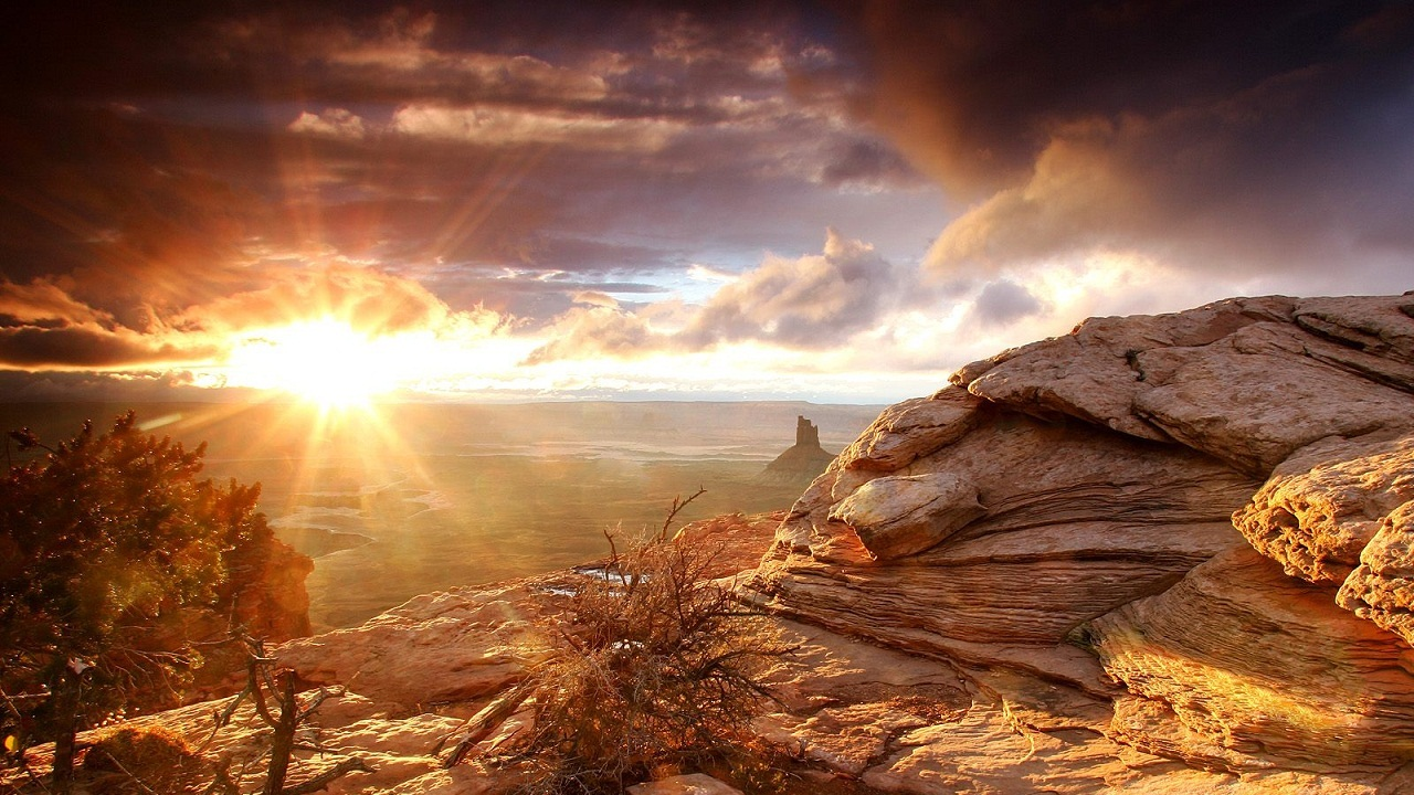 Desert Sunrise WallpaperDesert Sunrise Wallpaper