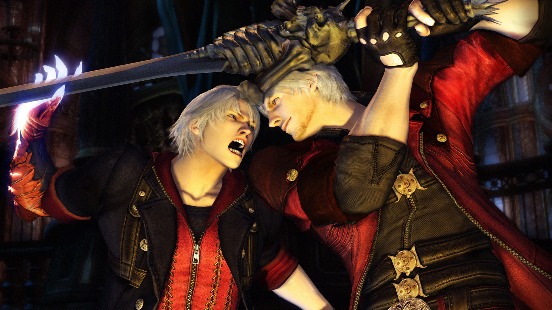 Devil May Cry 4 - Sibling Rivalry Wallpapers
