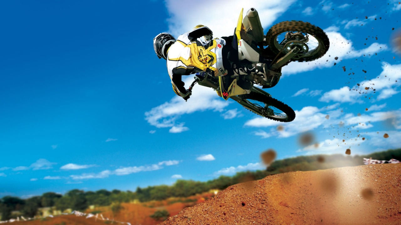 Dirt Bike Jump Wallpapers