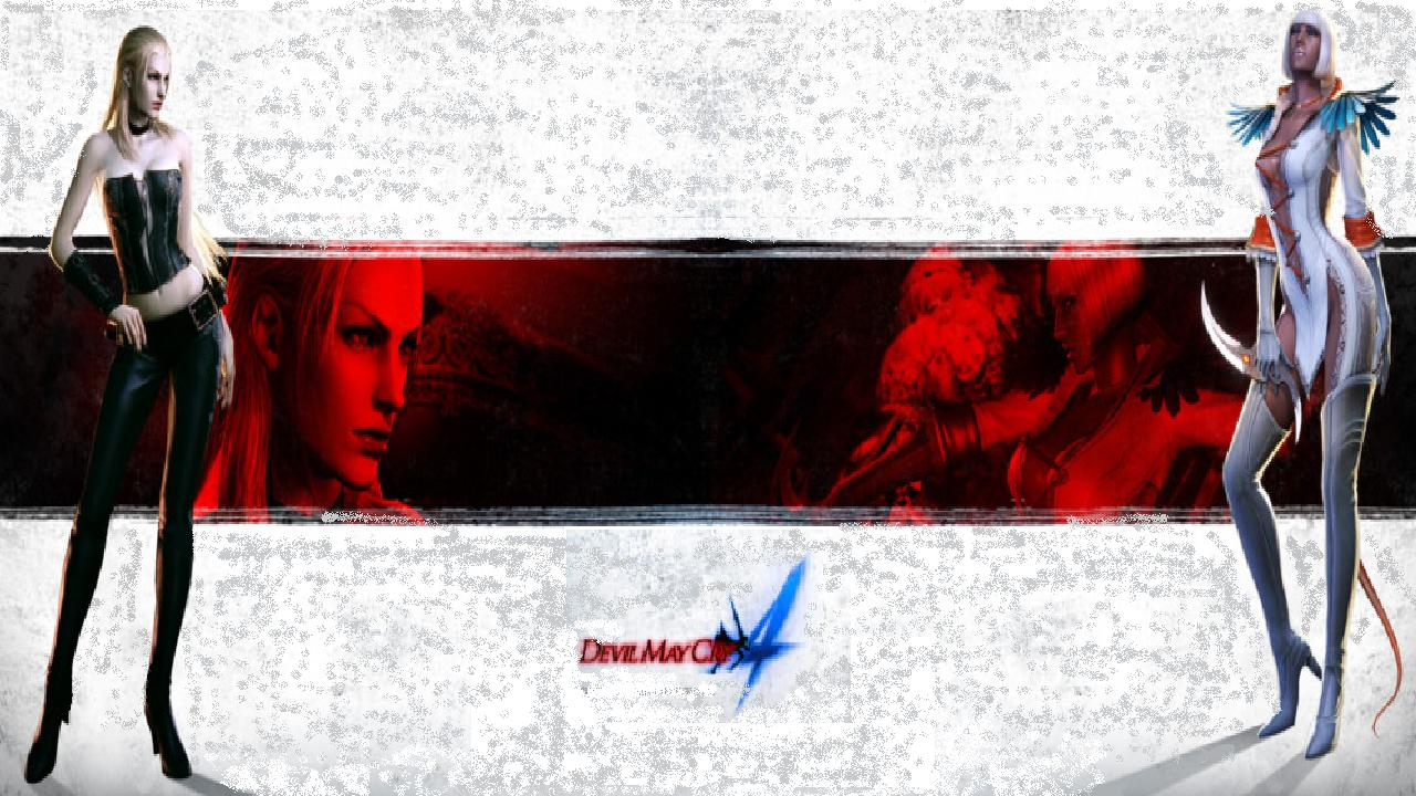 DMC4 - Trish/Gloria Wallpapers