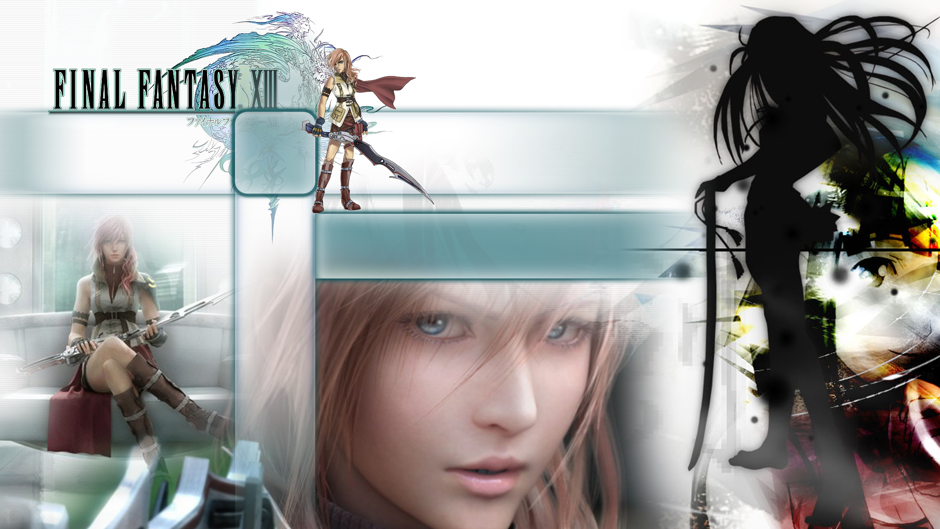 FFXIII - Various Lightning Wallpapers