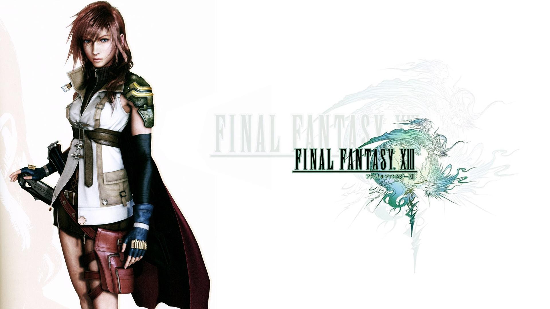 FFXIII Logo w/Lightning Wallpapers