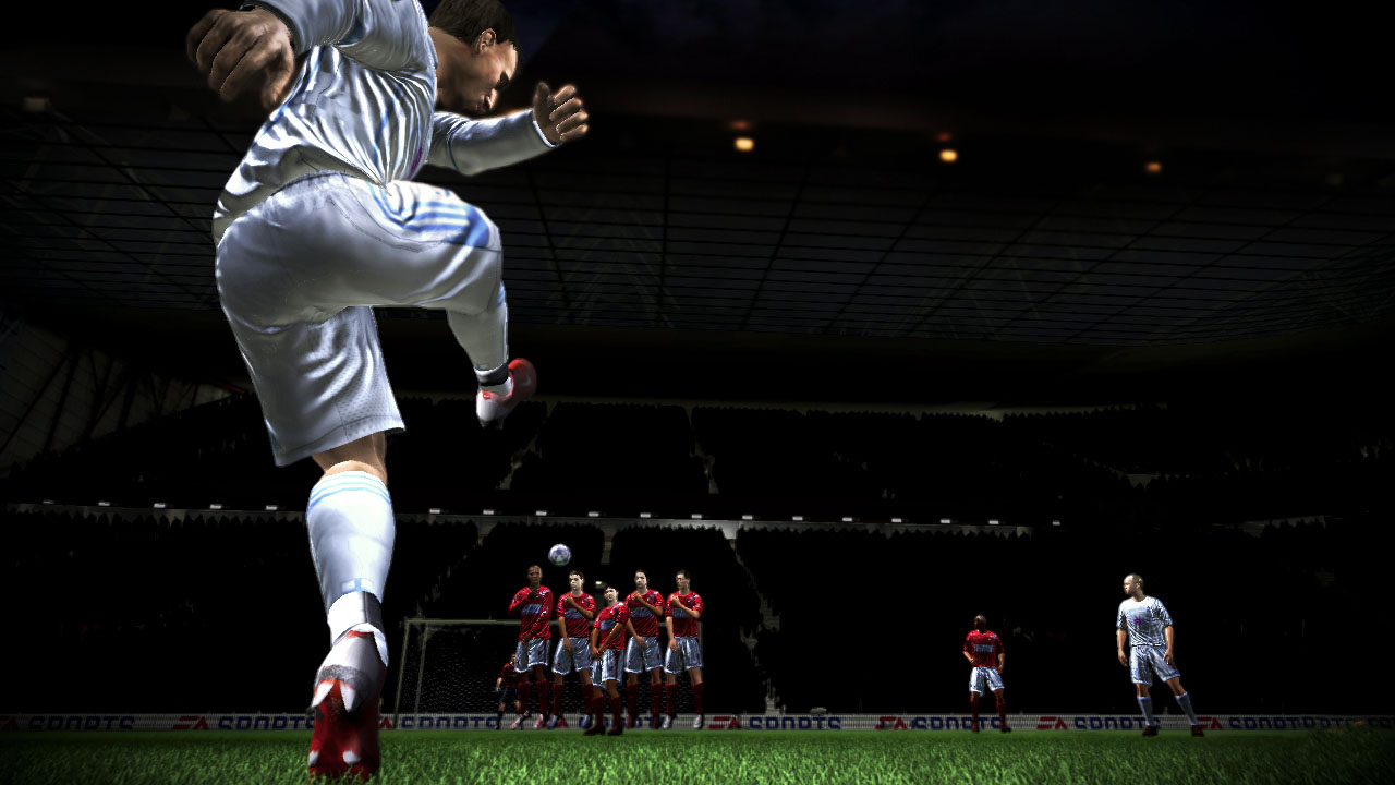FIFA 10 - Free Kick Wallpapers