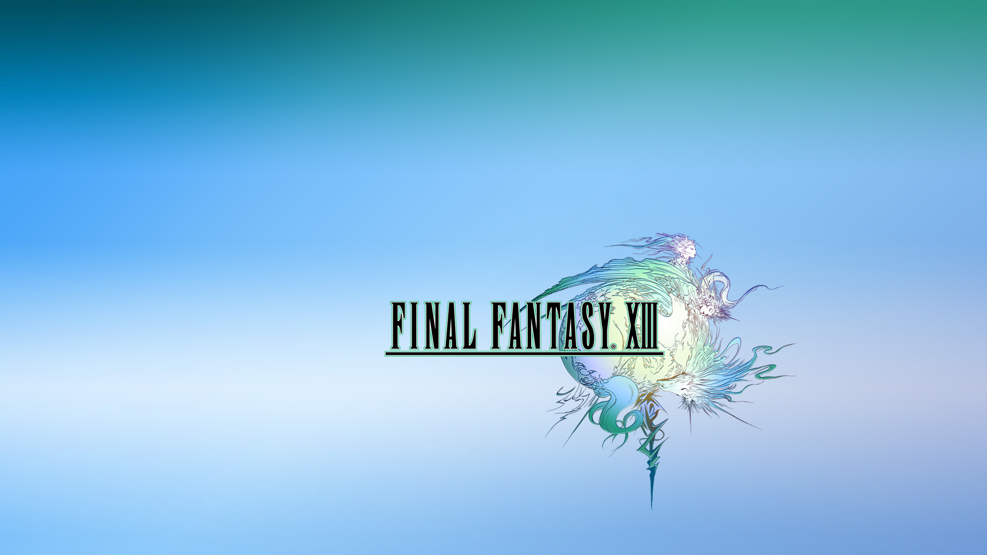 FinalFantasy XIII - Logo Wallpapers