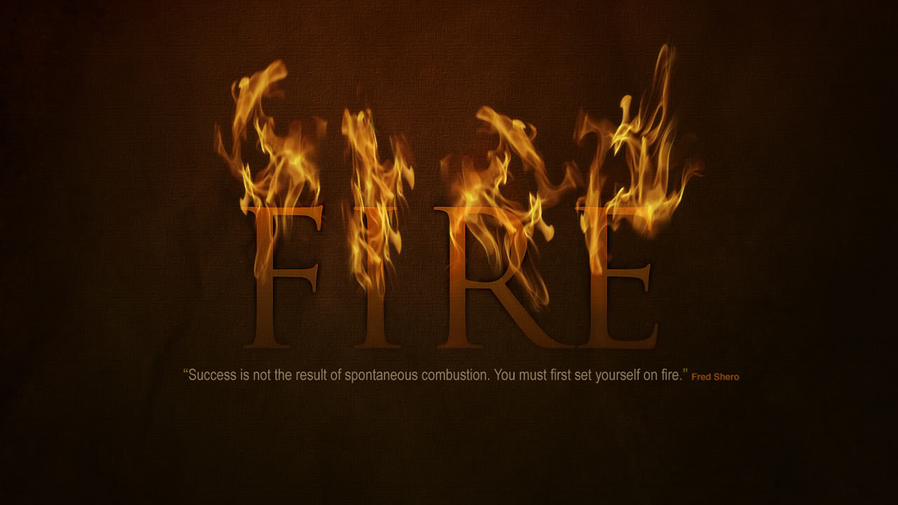 Fire Quote Wallpapers