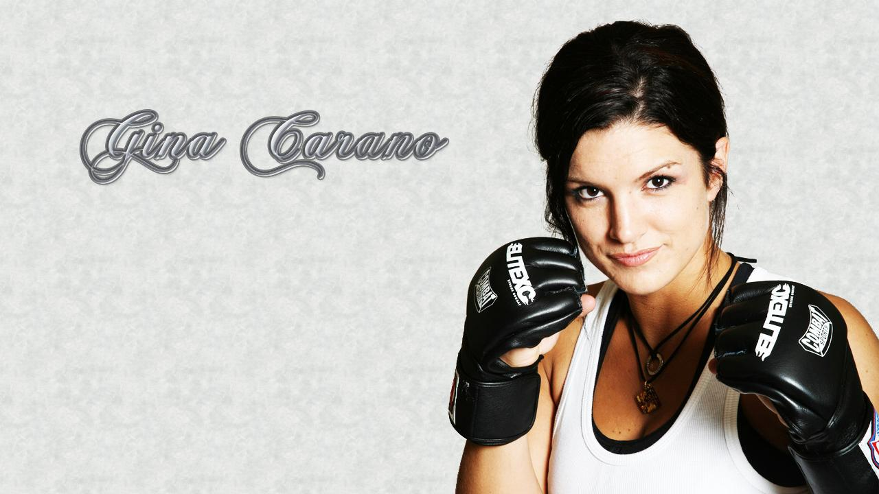 Gina Carano - Put 'Em Up Wallpapers