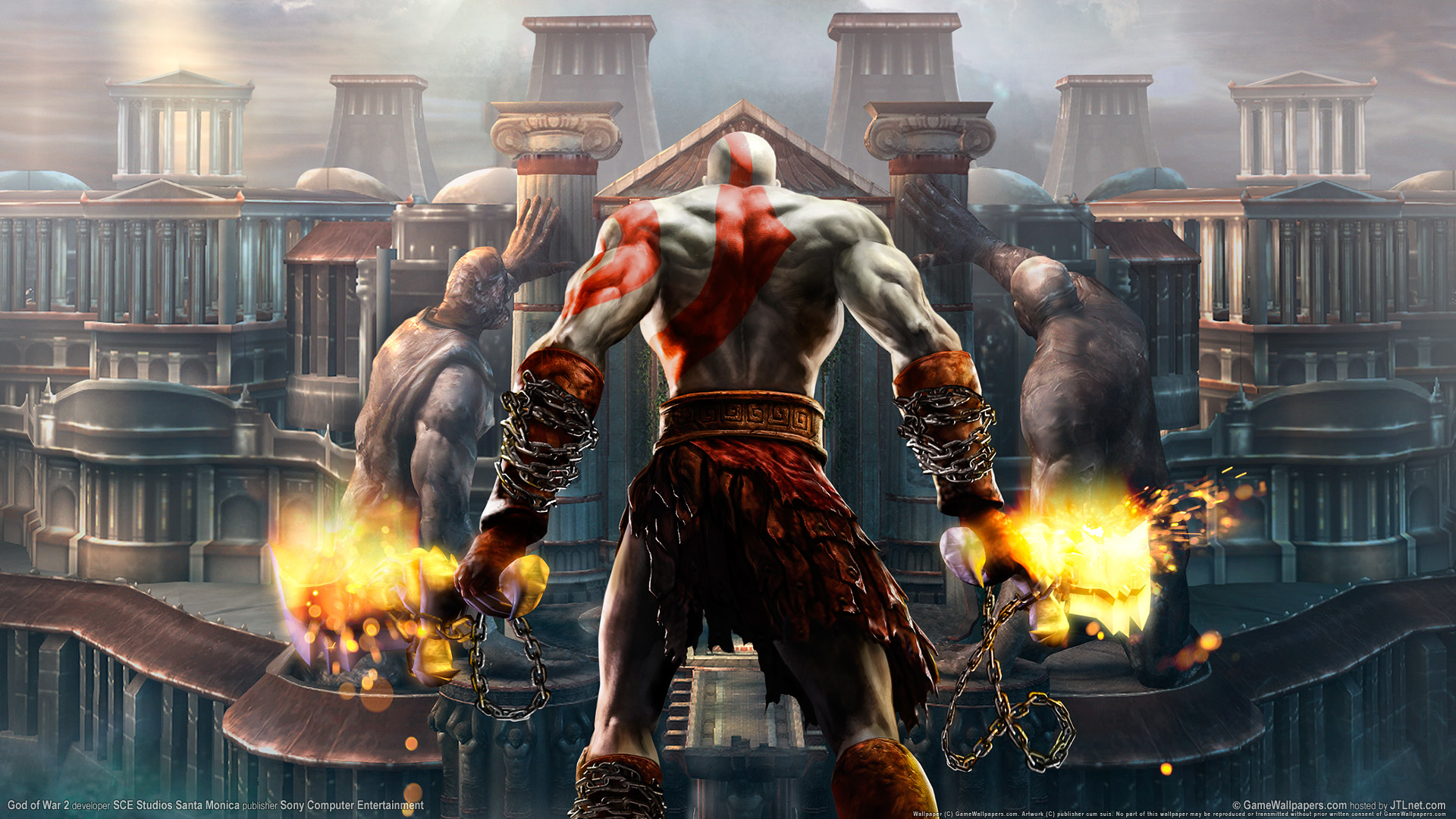 God of War - Body of Atlus Wallpapers