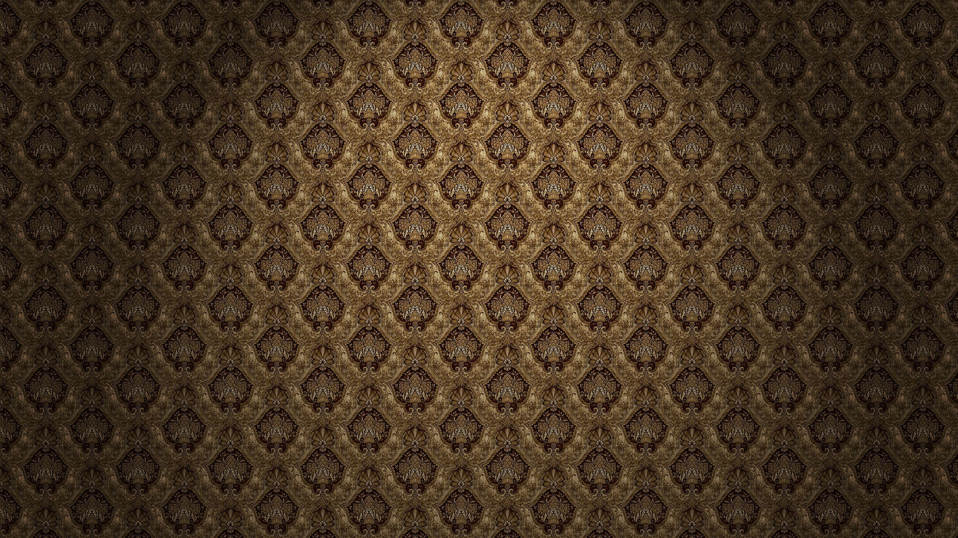 Gold and Black Pattern Wallpapers