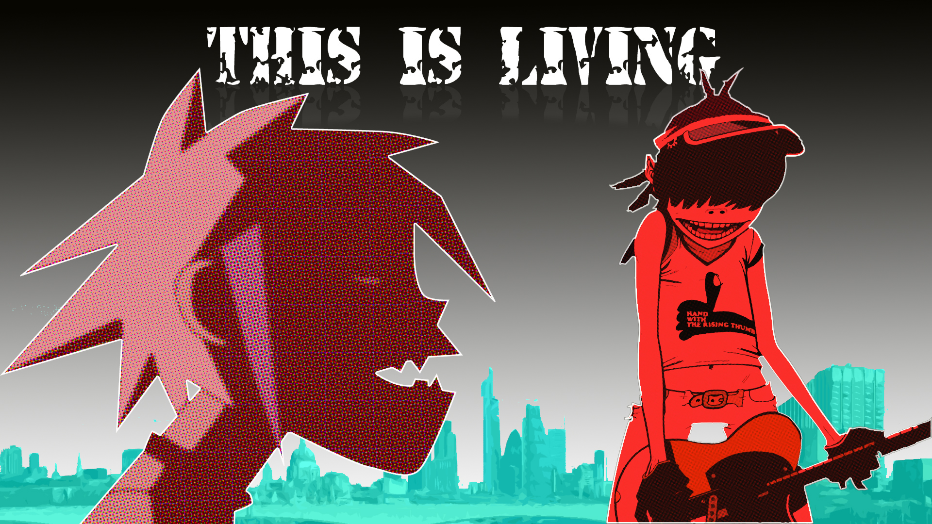 Gorillaz - This is Living Wallpapers