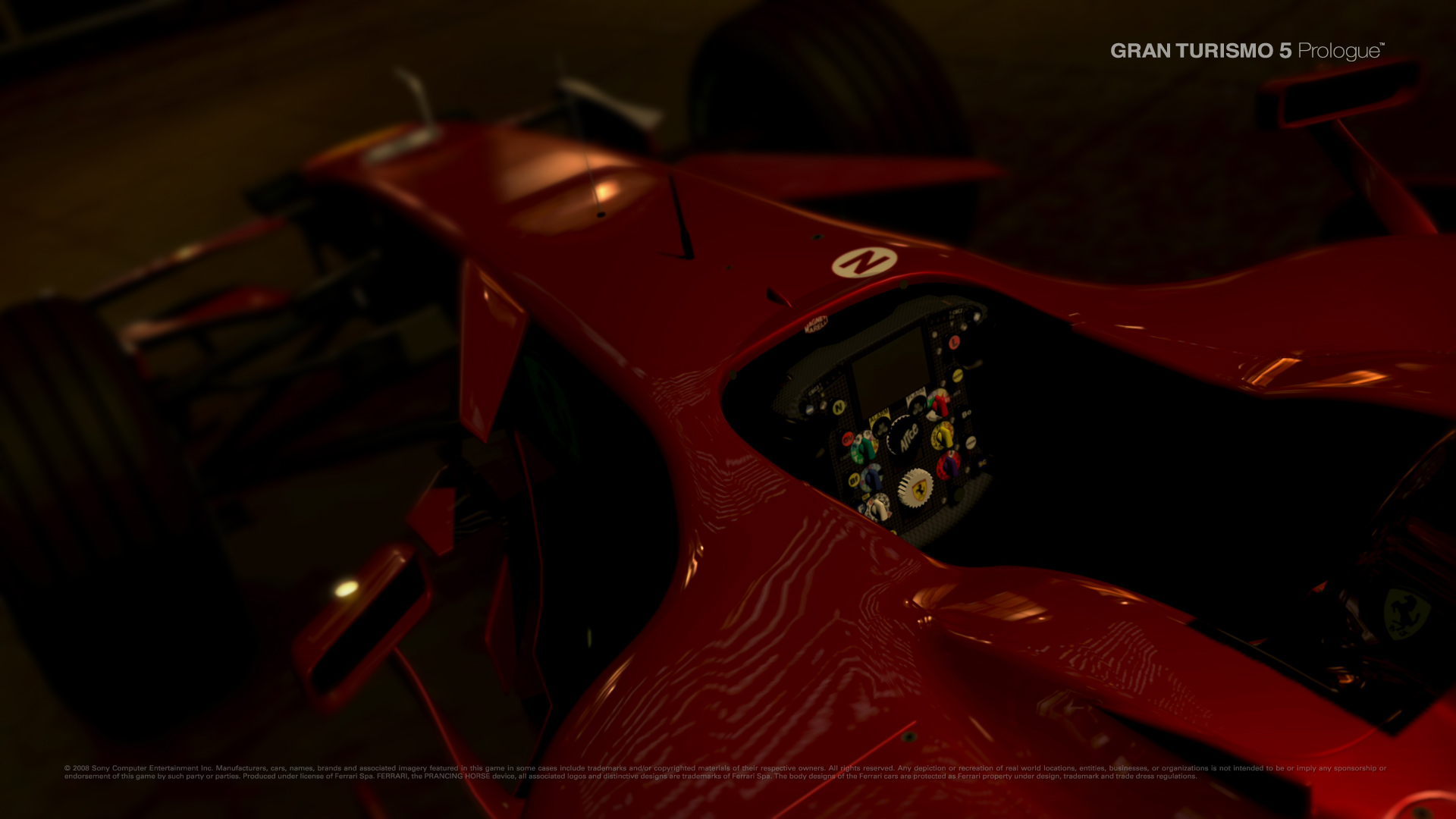 GT5 Prologue - Interior Wallpapers