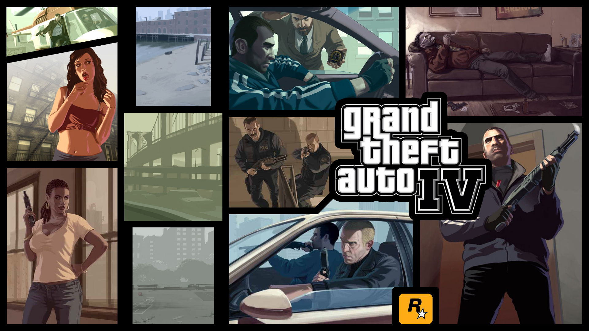 GTAIV - Various Wallpapers