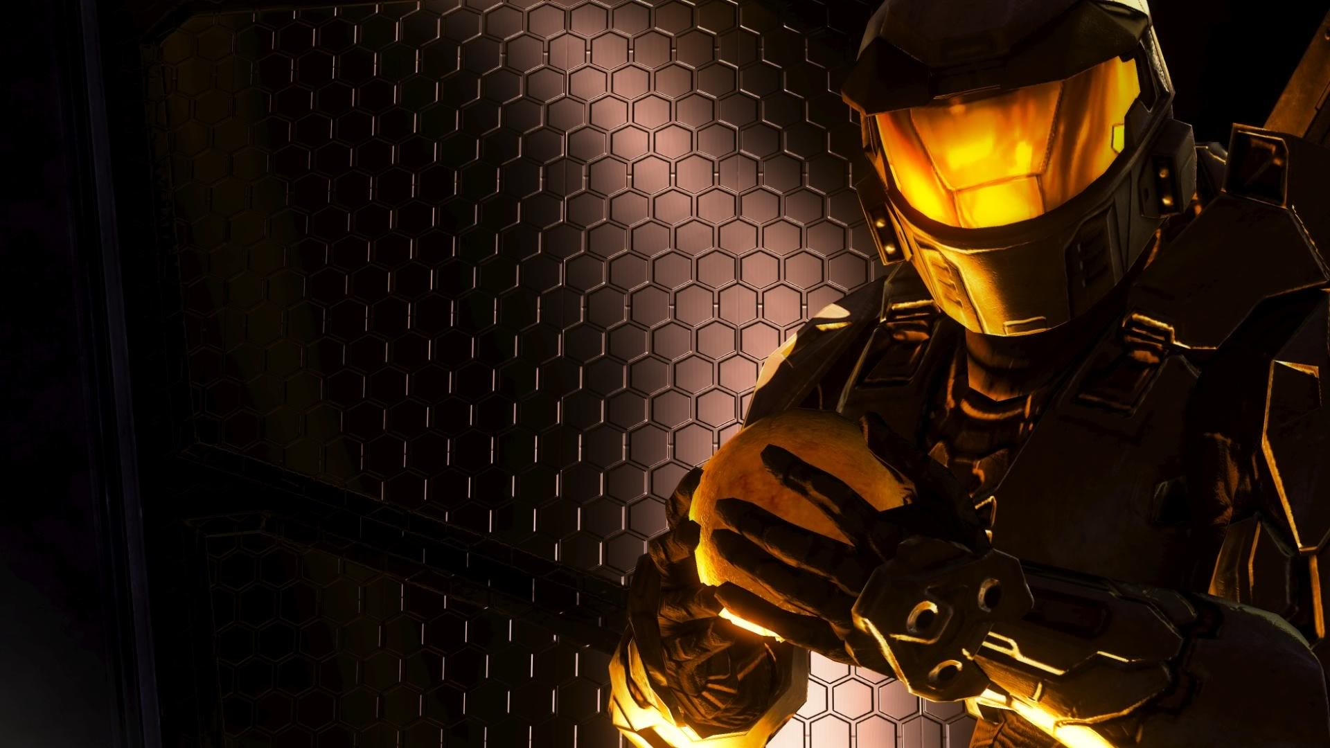 Halo's Master Chief Shadowed Wallpapers