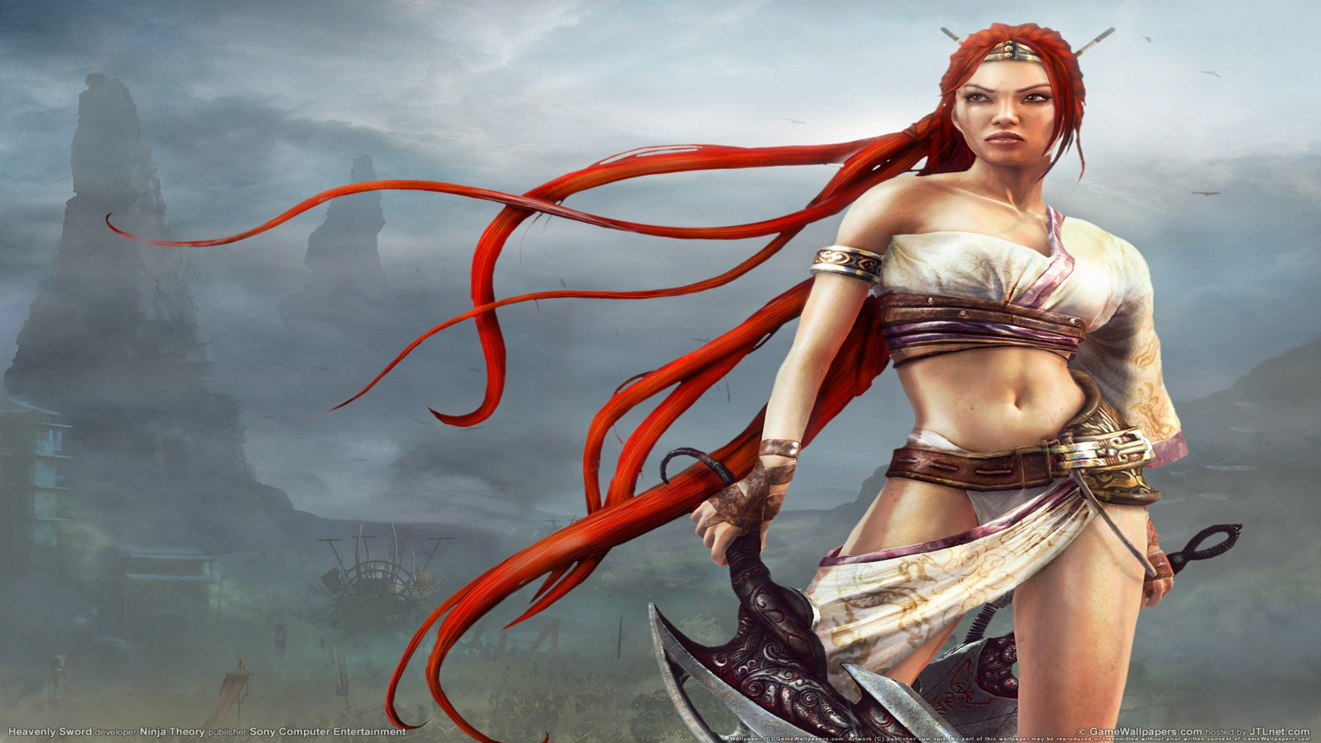 Heavenly Sword - Hot Nariko Wallpapers