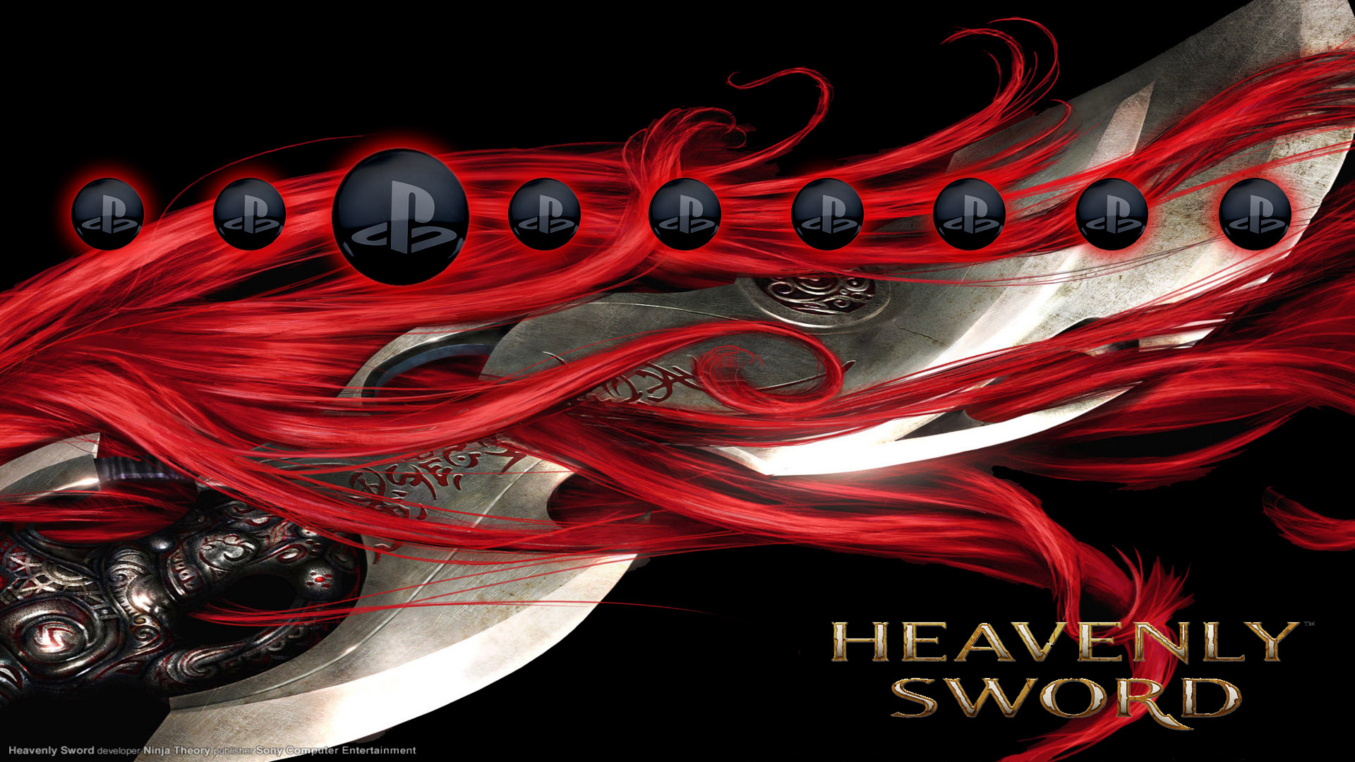 Heavenly Sword - Nariko's Hair Wallpapers