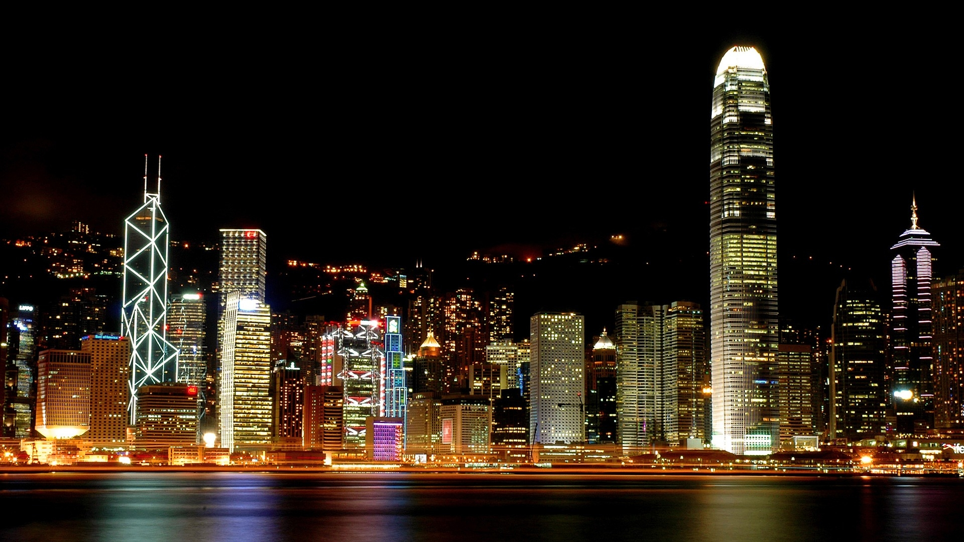 Hong Kong Night Wallpapers