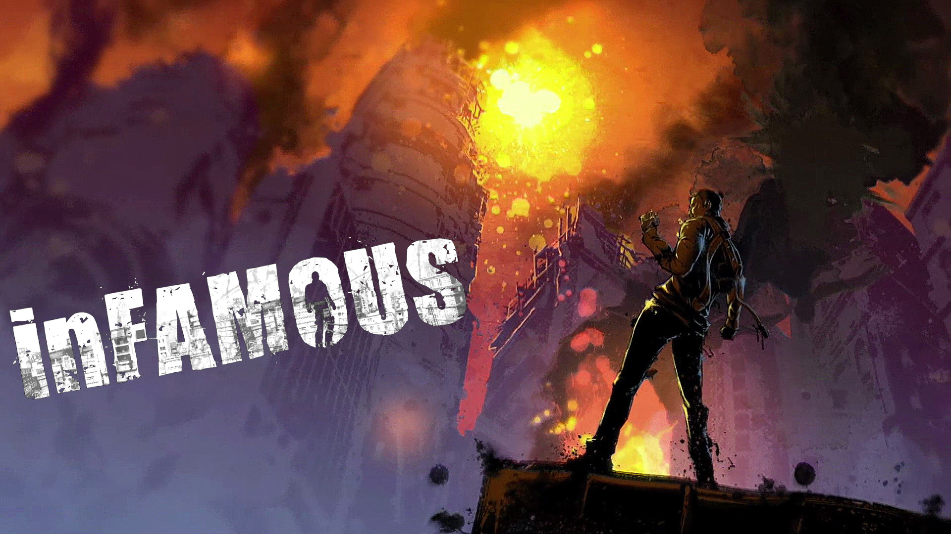 inFamous - Art Wallpapers
