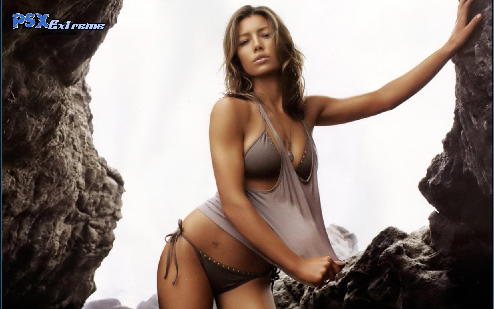 Jessica Biel hot wallpapers