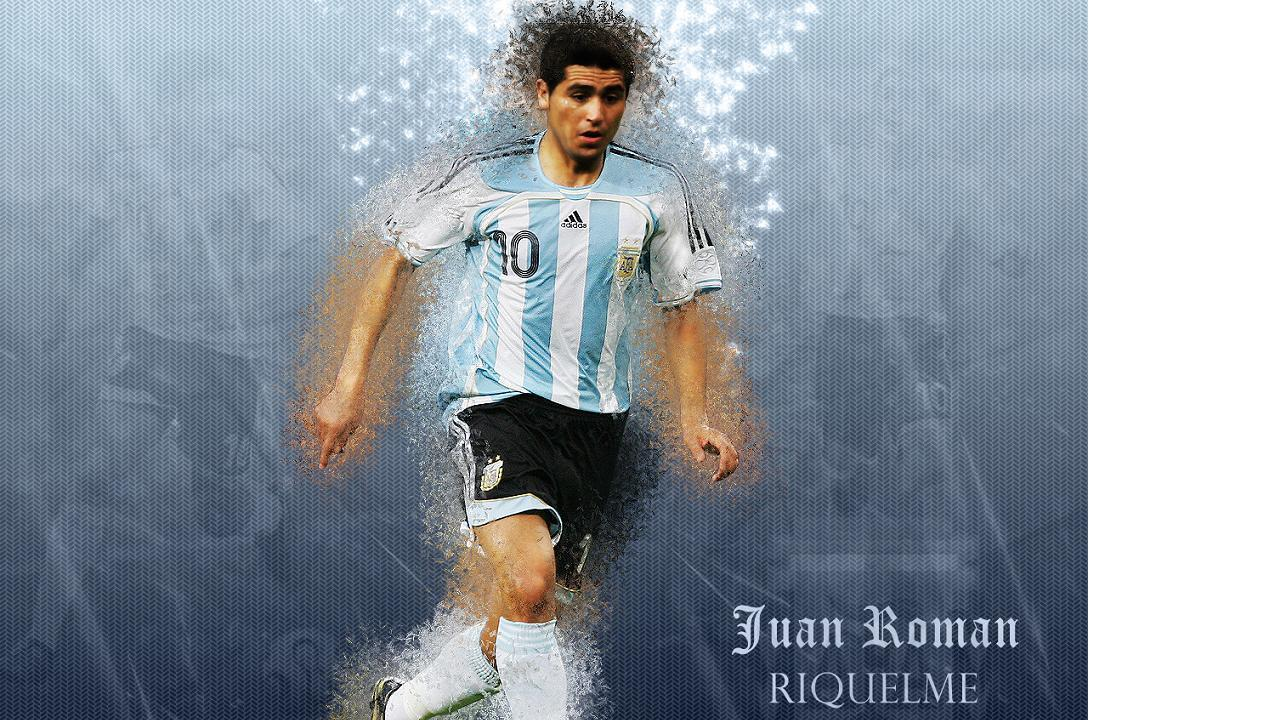 Juan Roman Riquelme 1 Wallpapers