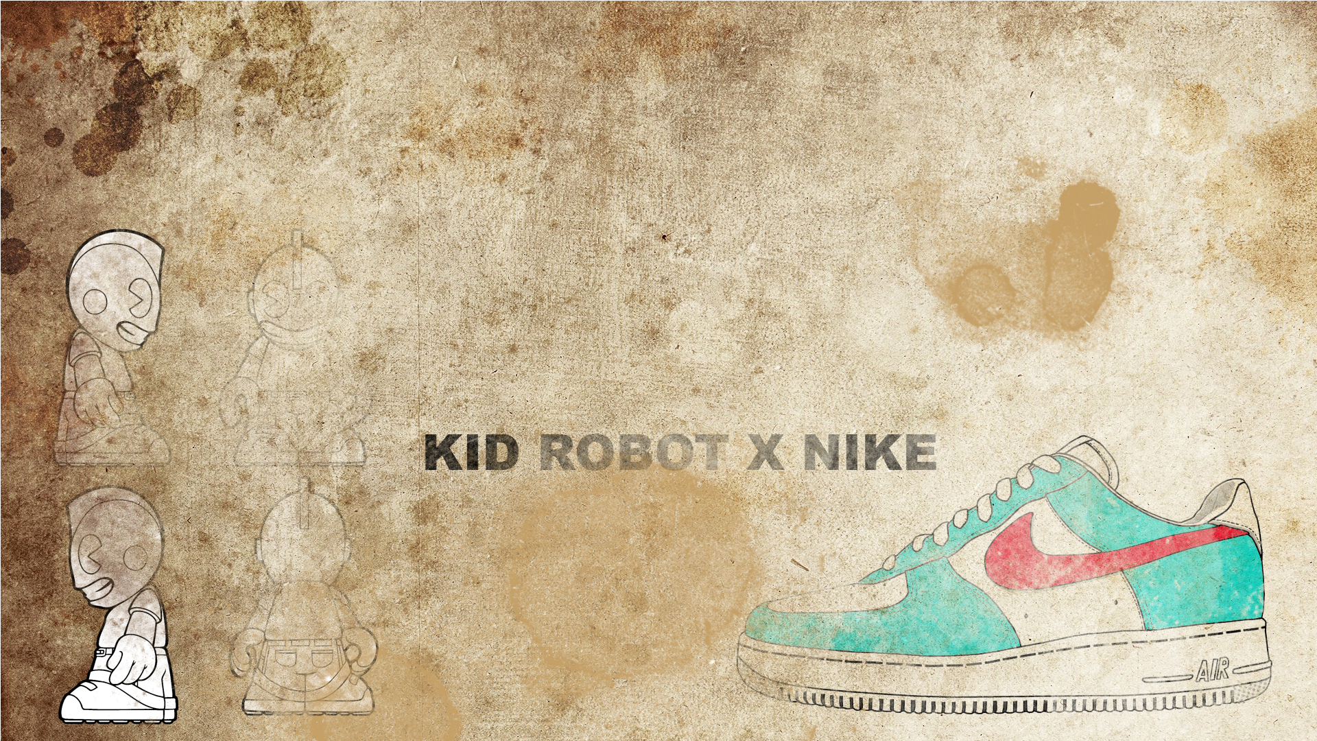 Kid Robot X Nike Wallpapers
