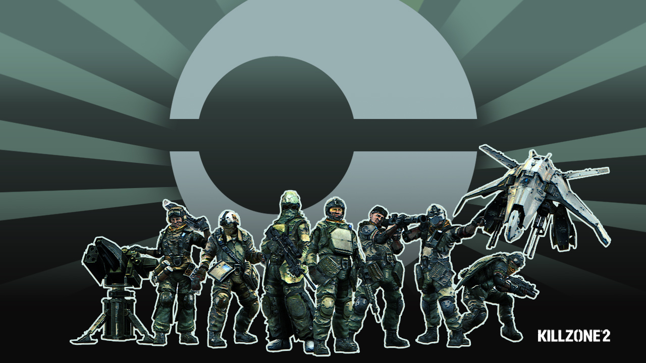 Killzone 2 ISA Team Wallpapers