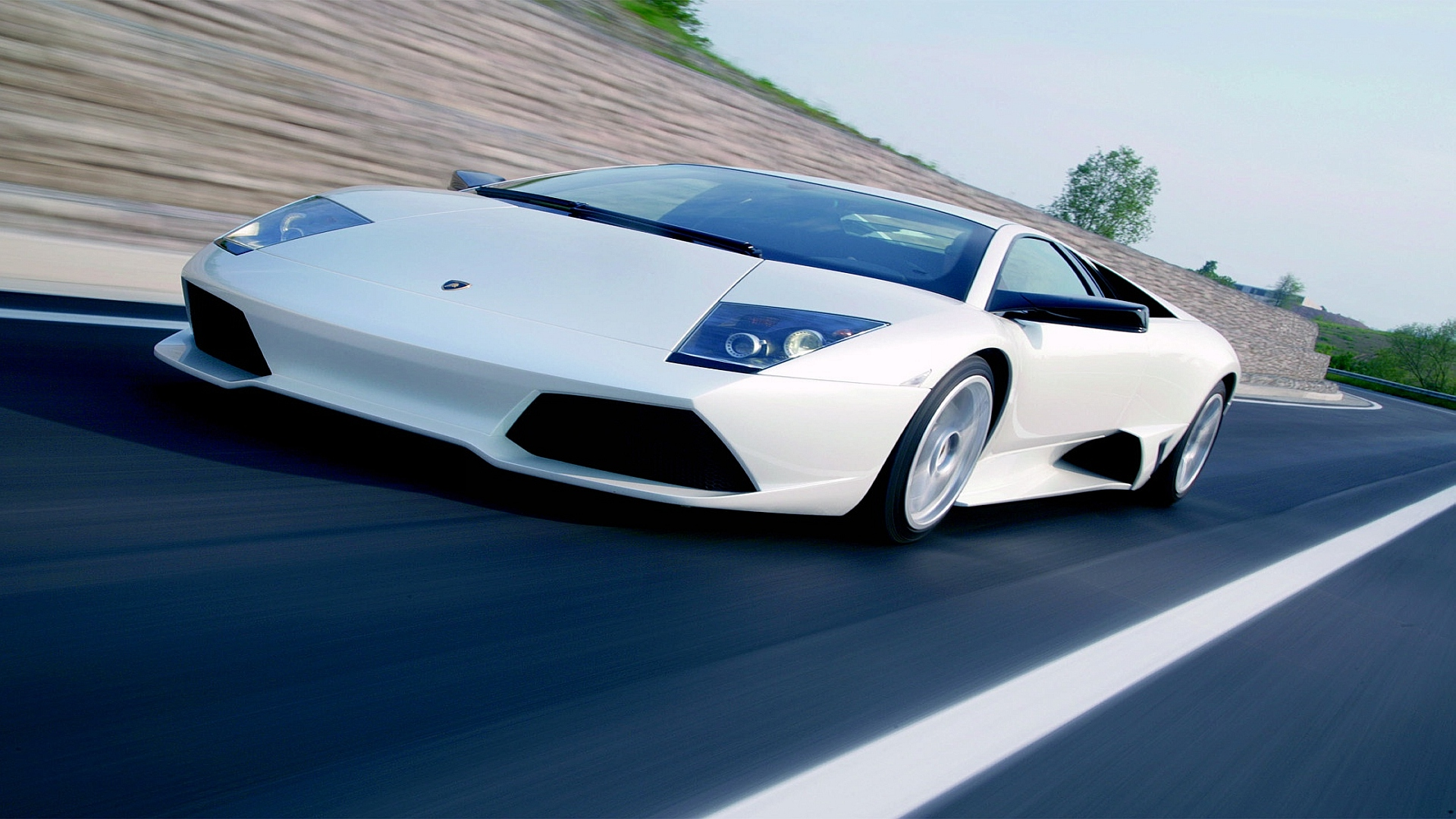 Lamborghini In Action Wallpapers