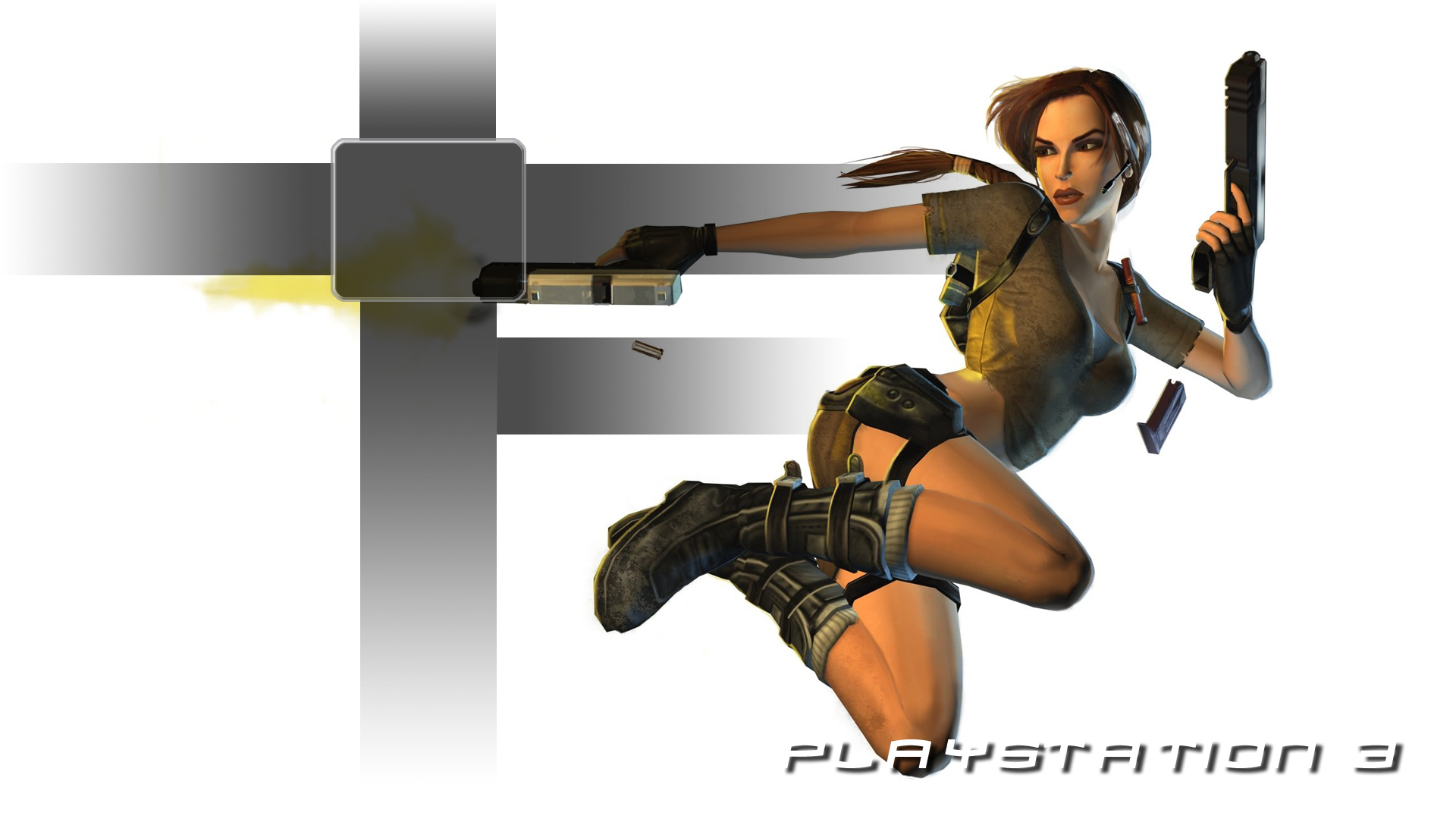 Lara Croft PS3 Wallpapers