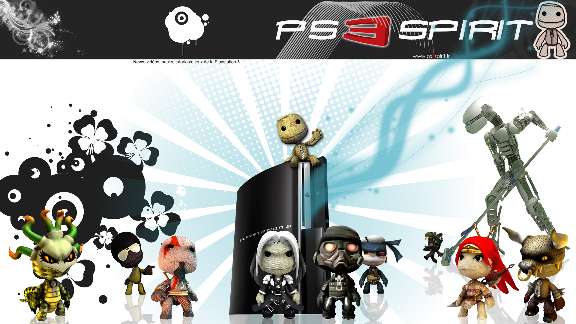 LBP On Top of the PS3 Wallpapers