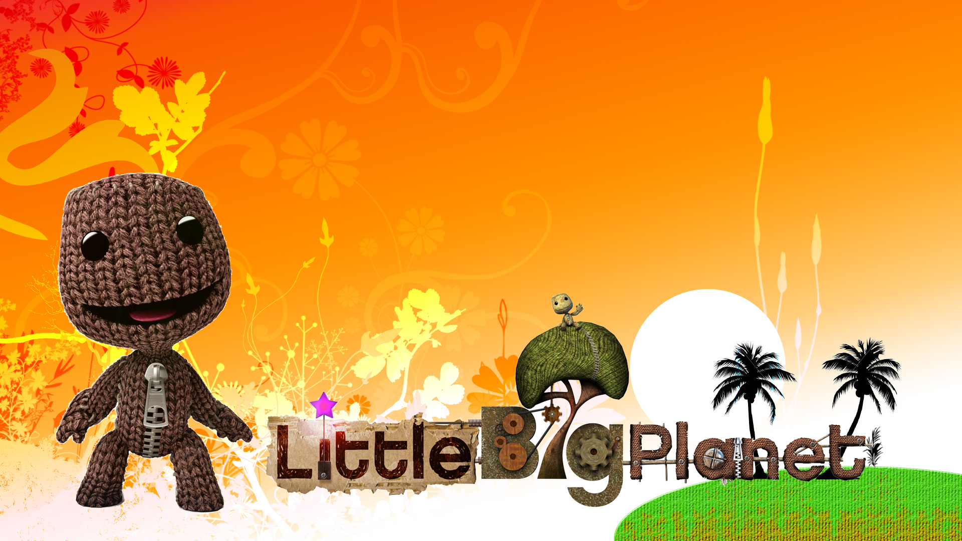 LittleBigPlanet - Sackboy Wave Wallpapers