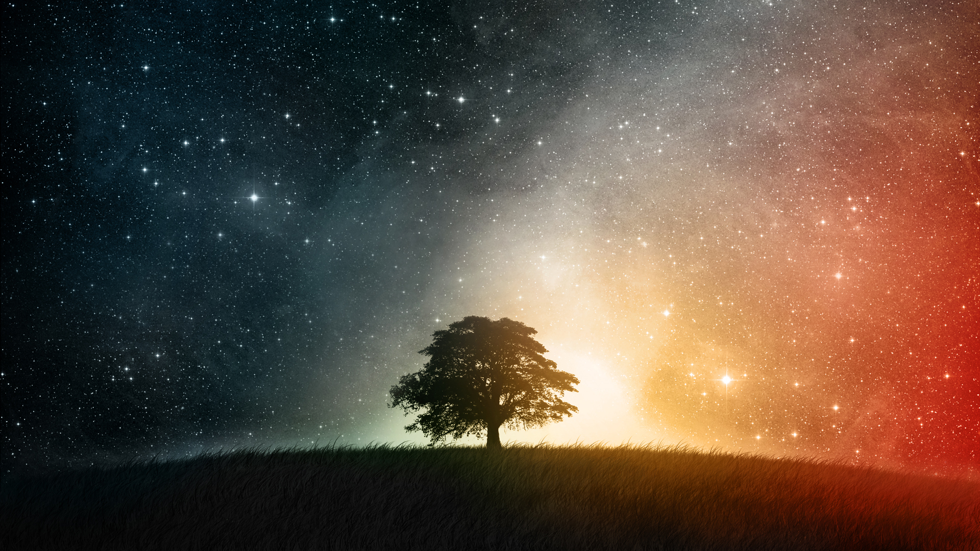 Lonesome in the Galaxy Wallpaper
