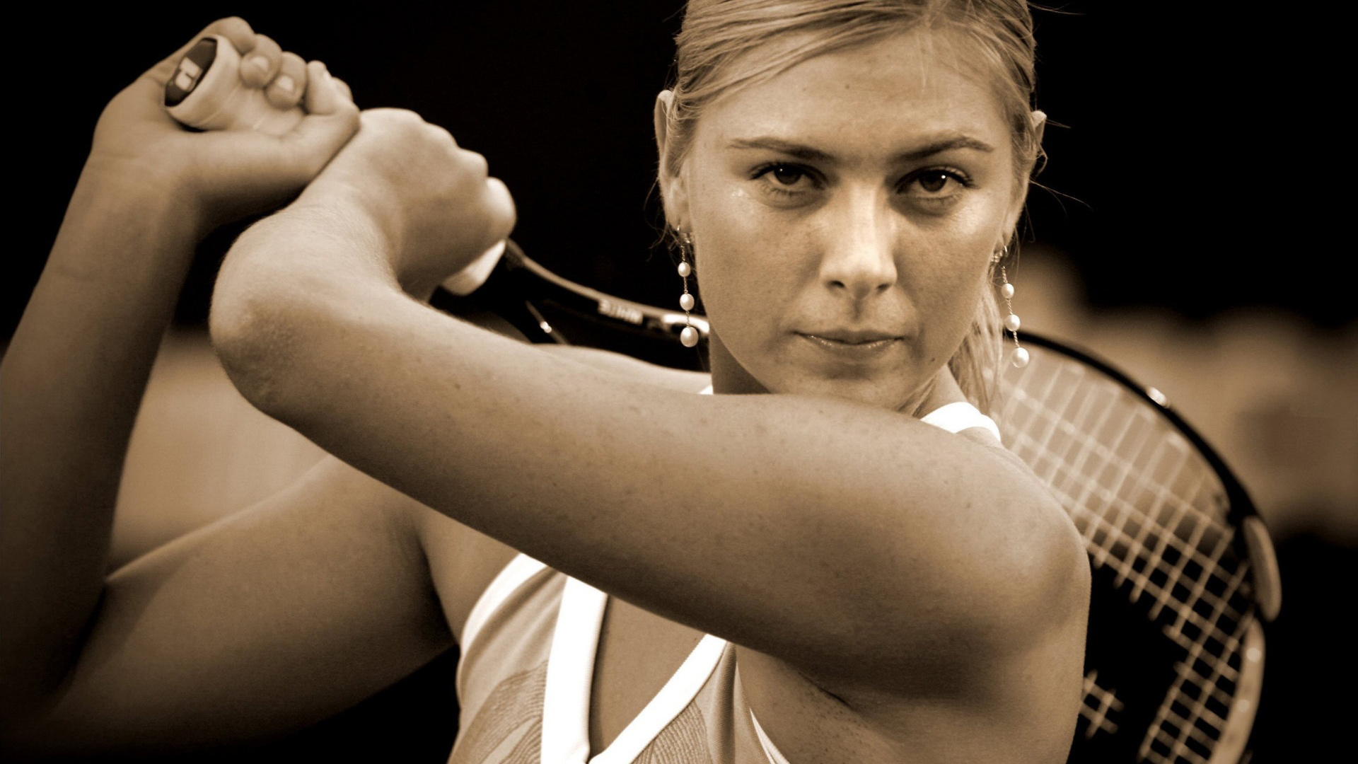 Maria Sharapova - This Girl Can Play Wallpapers