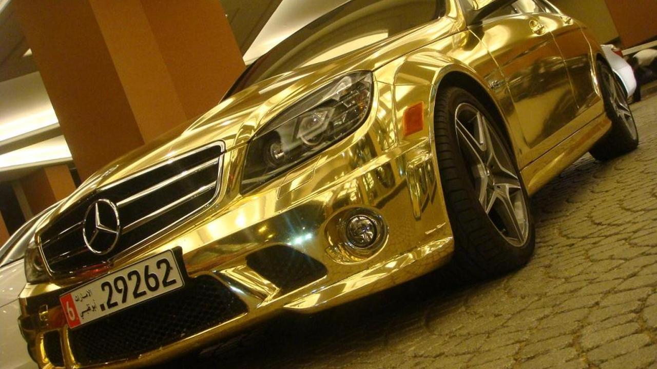 Mercedes - Gold Wallpapers