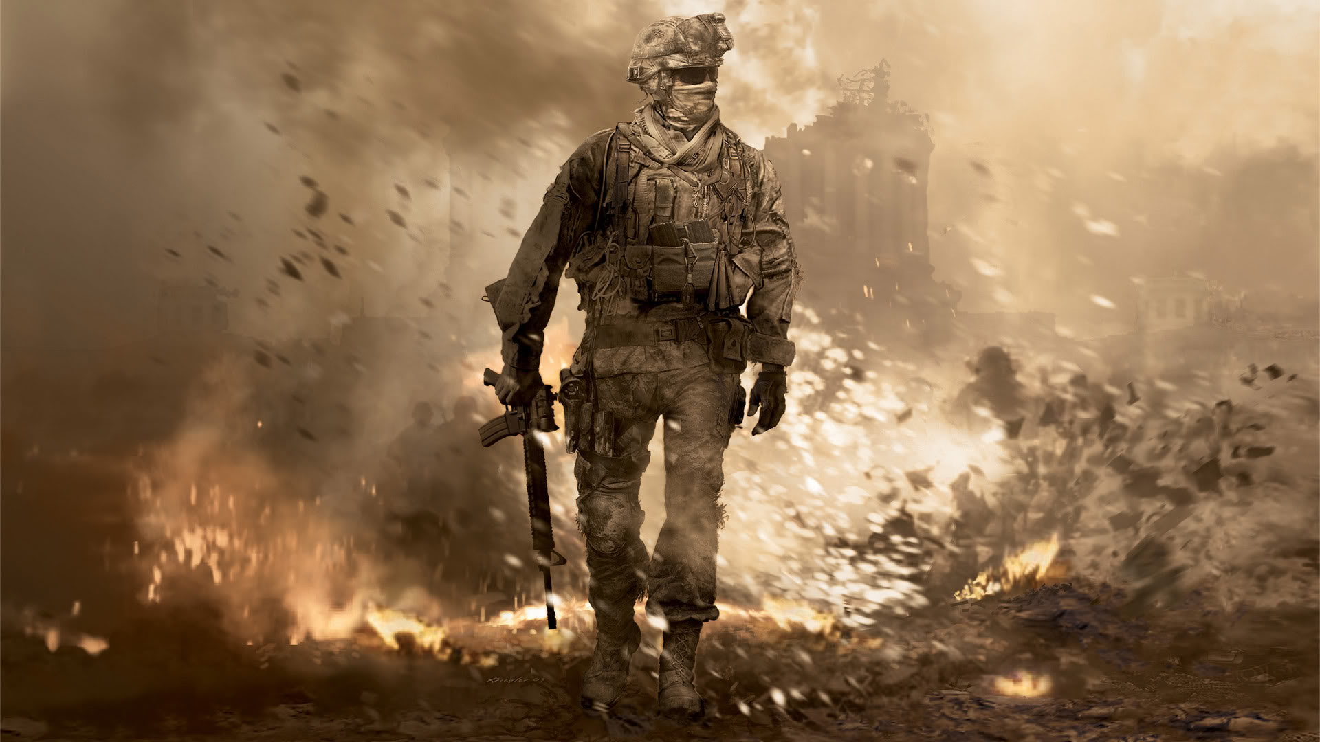 Modern Warfare 2 - Calm in Hell Wallpapers