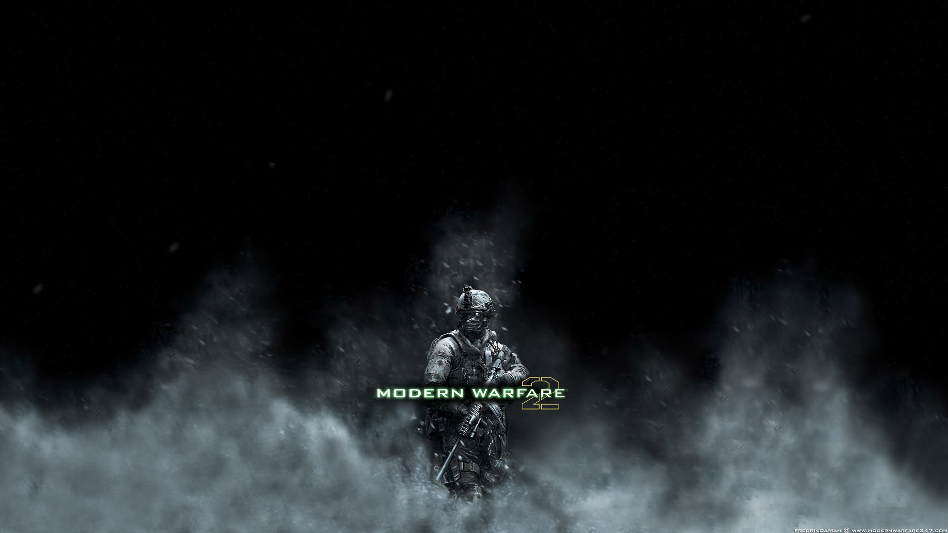 Modern Warfare 2 Smoke Wallpapers