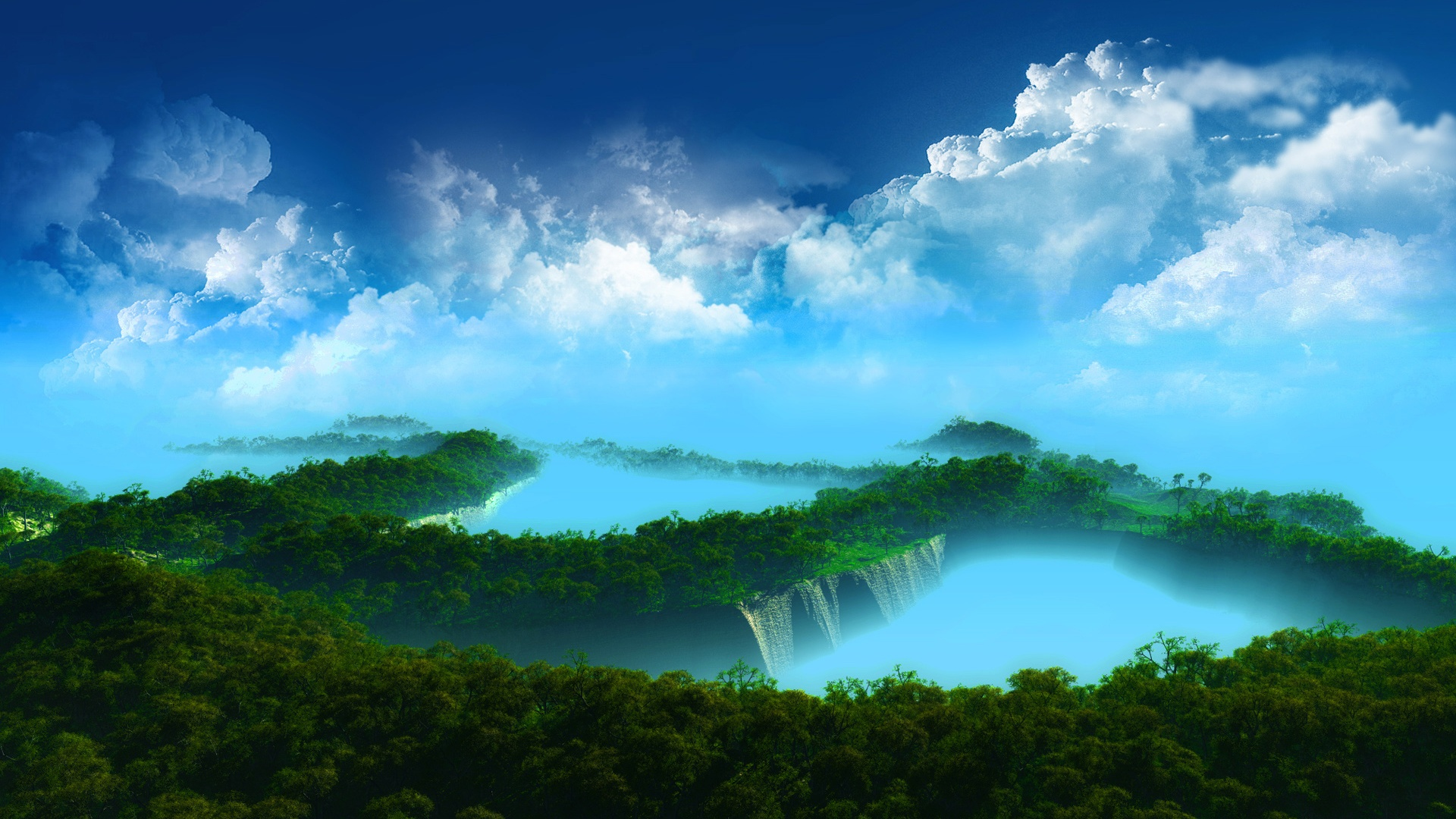Mystical Paradise Wallpapers