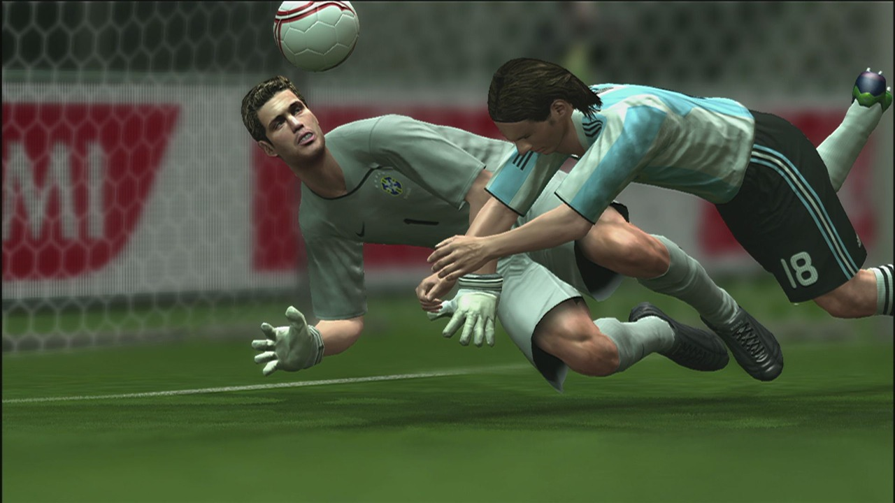 PES 2010 - Going for the Ball Wallpapers