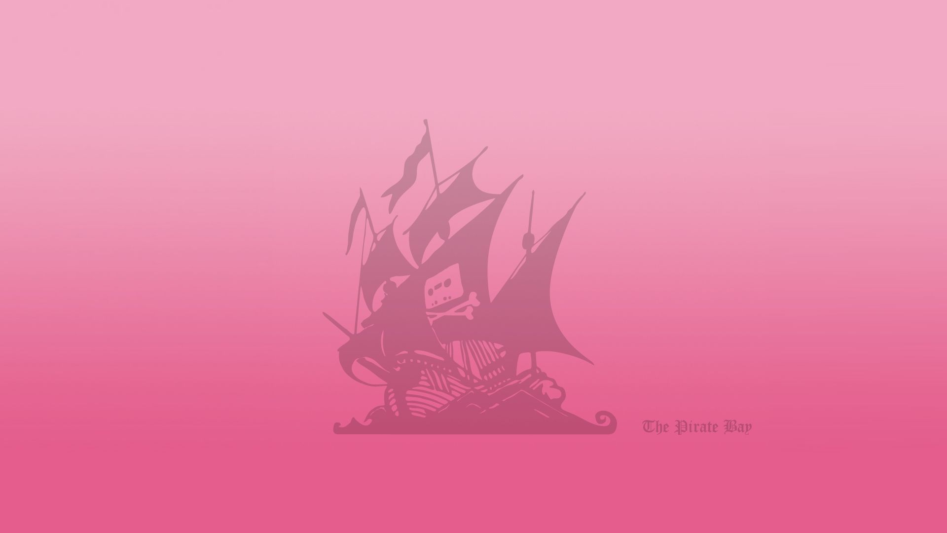 Pink Pirate Ship Wallpapers