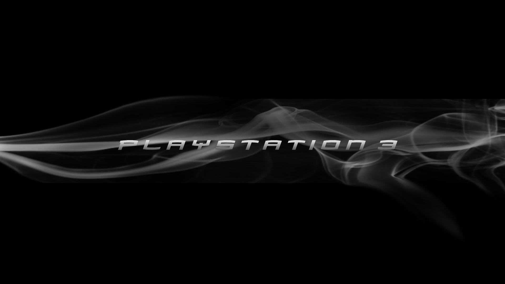 PlayStation 3 - Smoke Logo Wallpapers