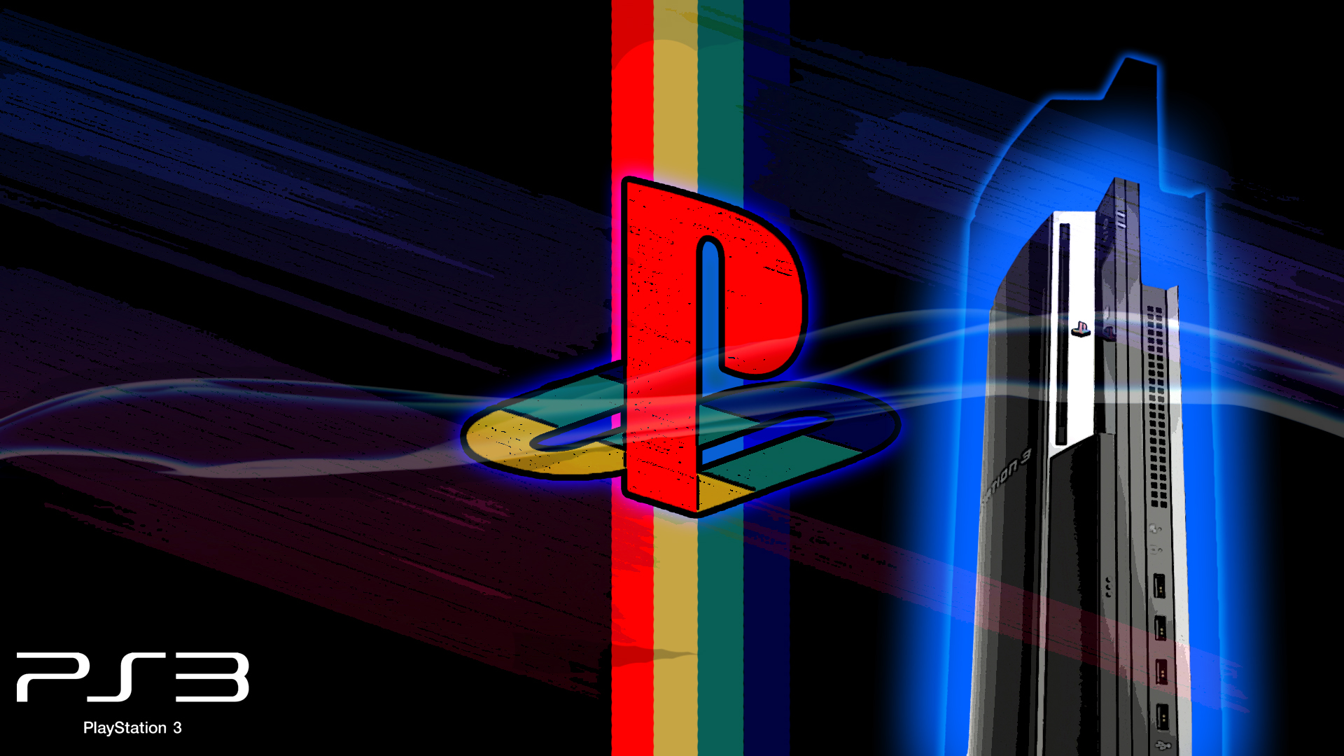 PS Logo and PS3 Wallpapers