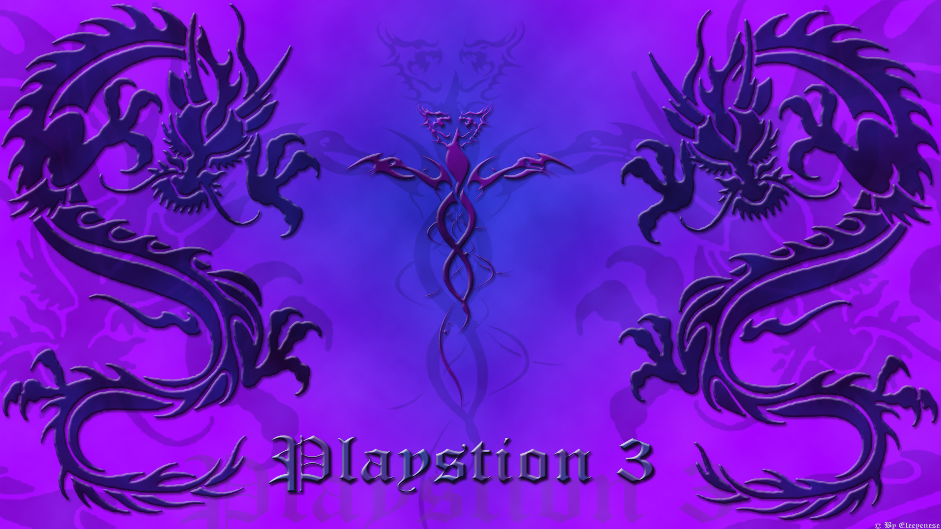 Purple Dragon PS3 Wallpapers