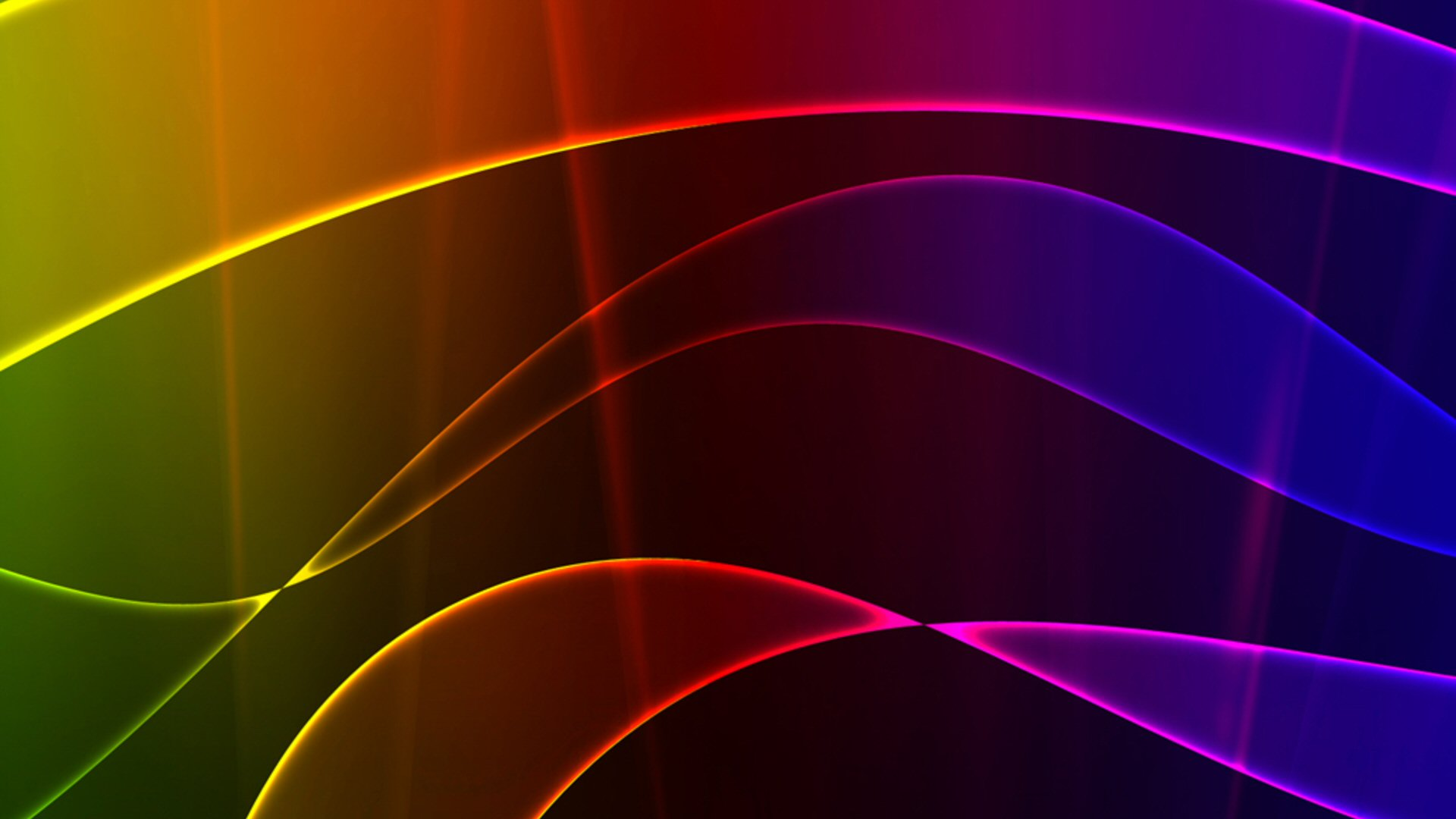 Rainbow Waves Wallpapers
